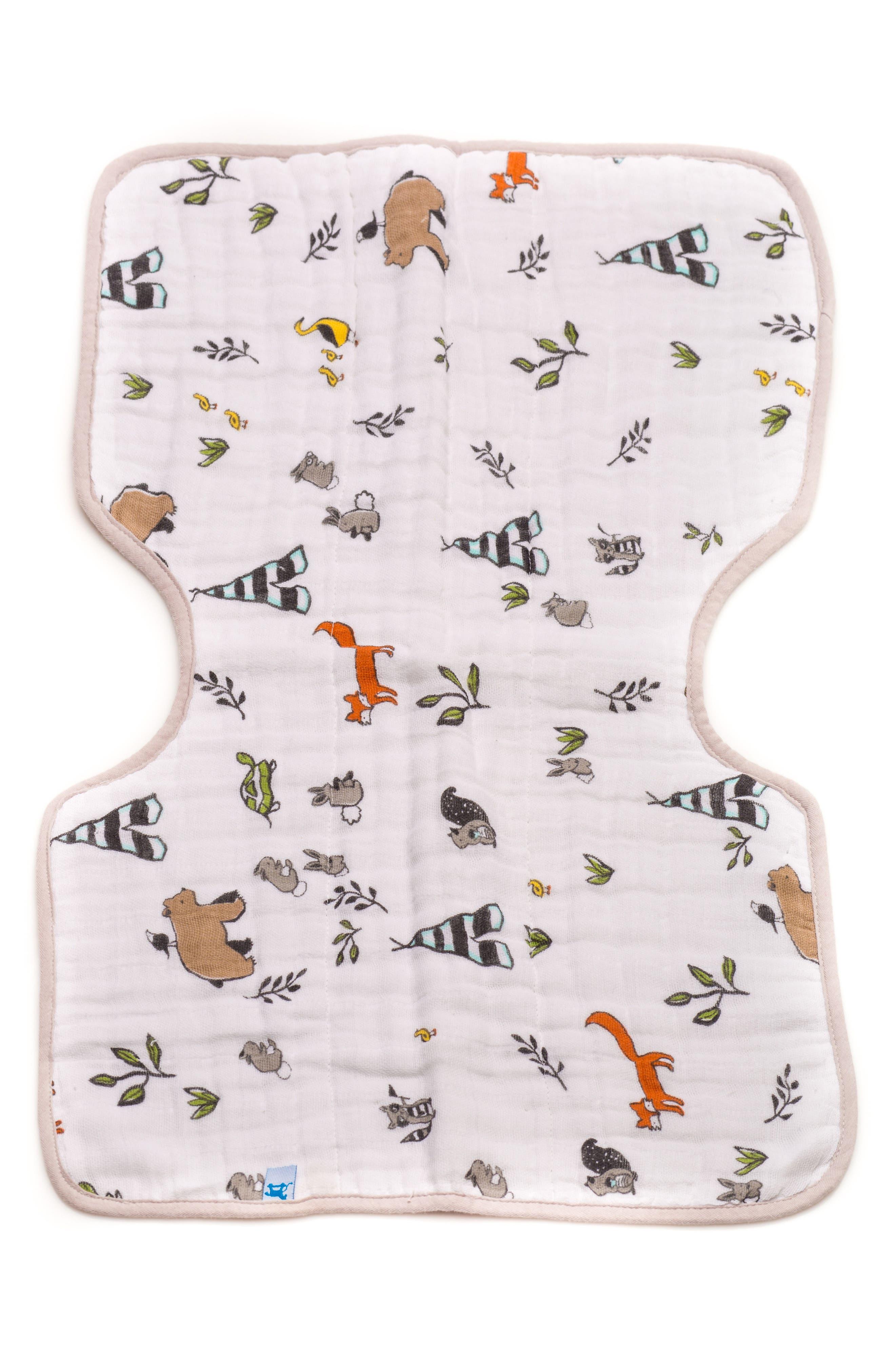 Cotton Muslin Burp Cloth,                             Main thumbnail 1, color,                             400