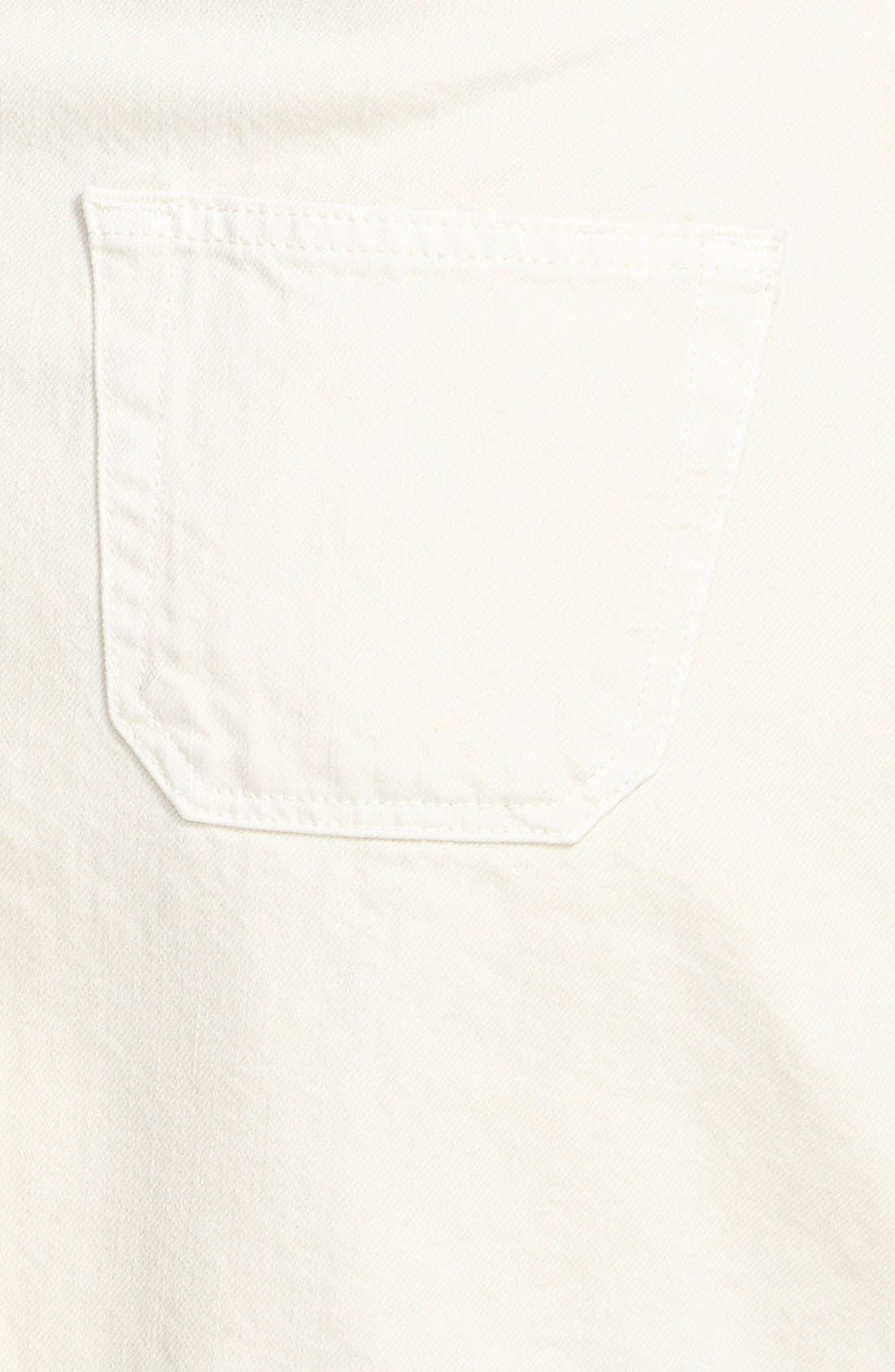 Alexa Chung for AG 'The Gillian' Overalls Dress,                             Alternate thumbnail 3, color,                             100