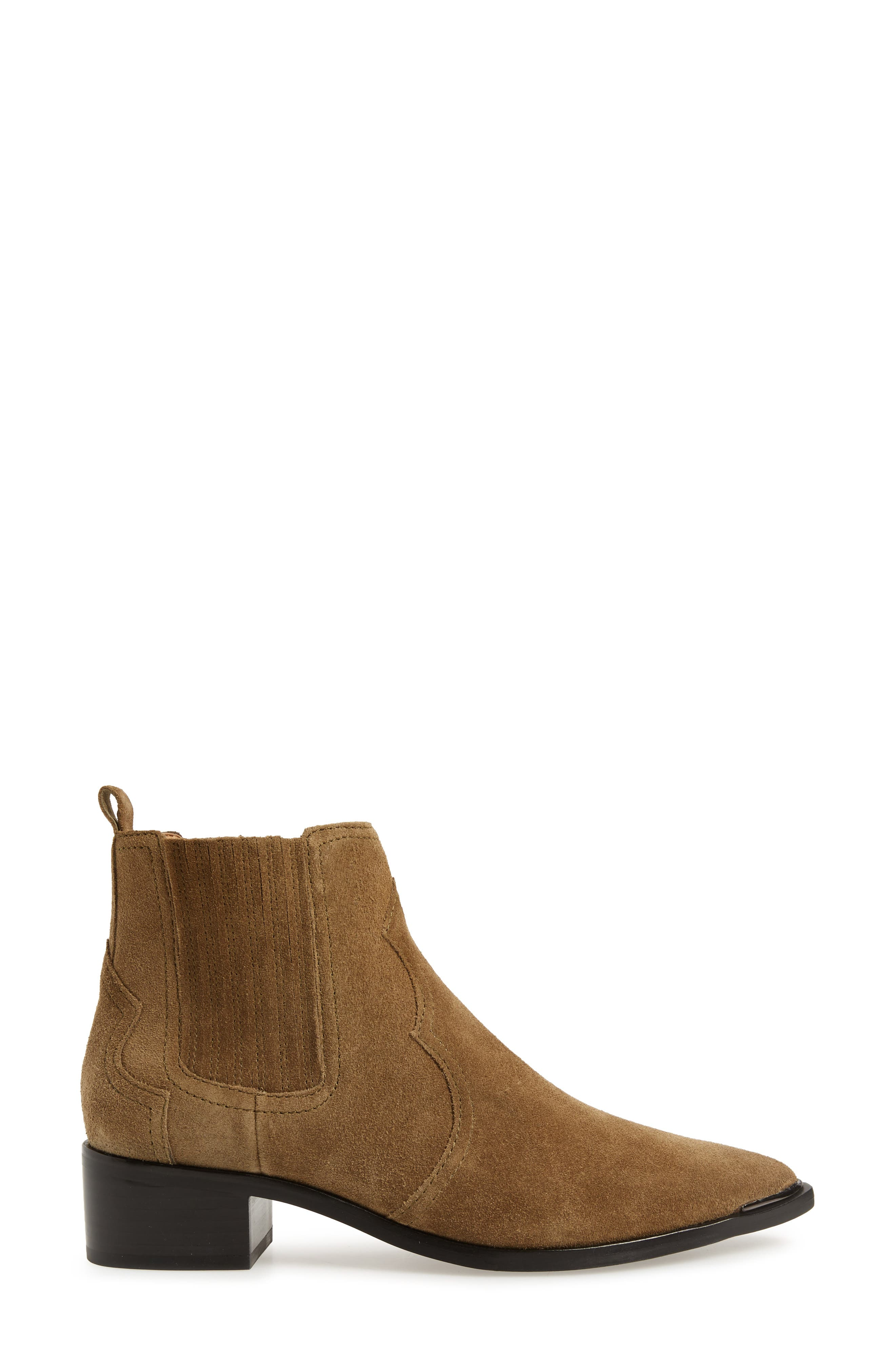 Yohani Bootie,                             Alternate thumbnail 3, color,                             TAUPE SUEDE