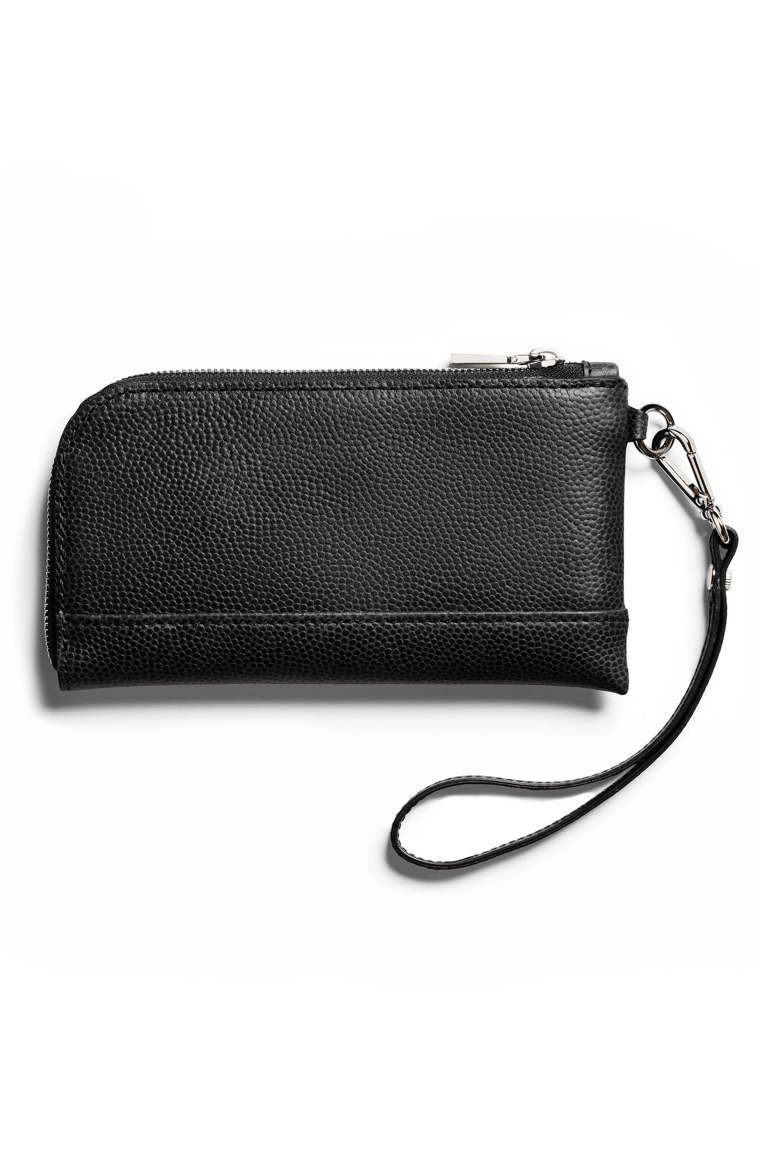 Latigo Leather Wristlet,                             Alternate thumbnail 2, color,                             001