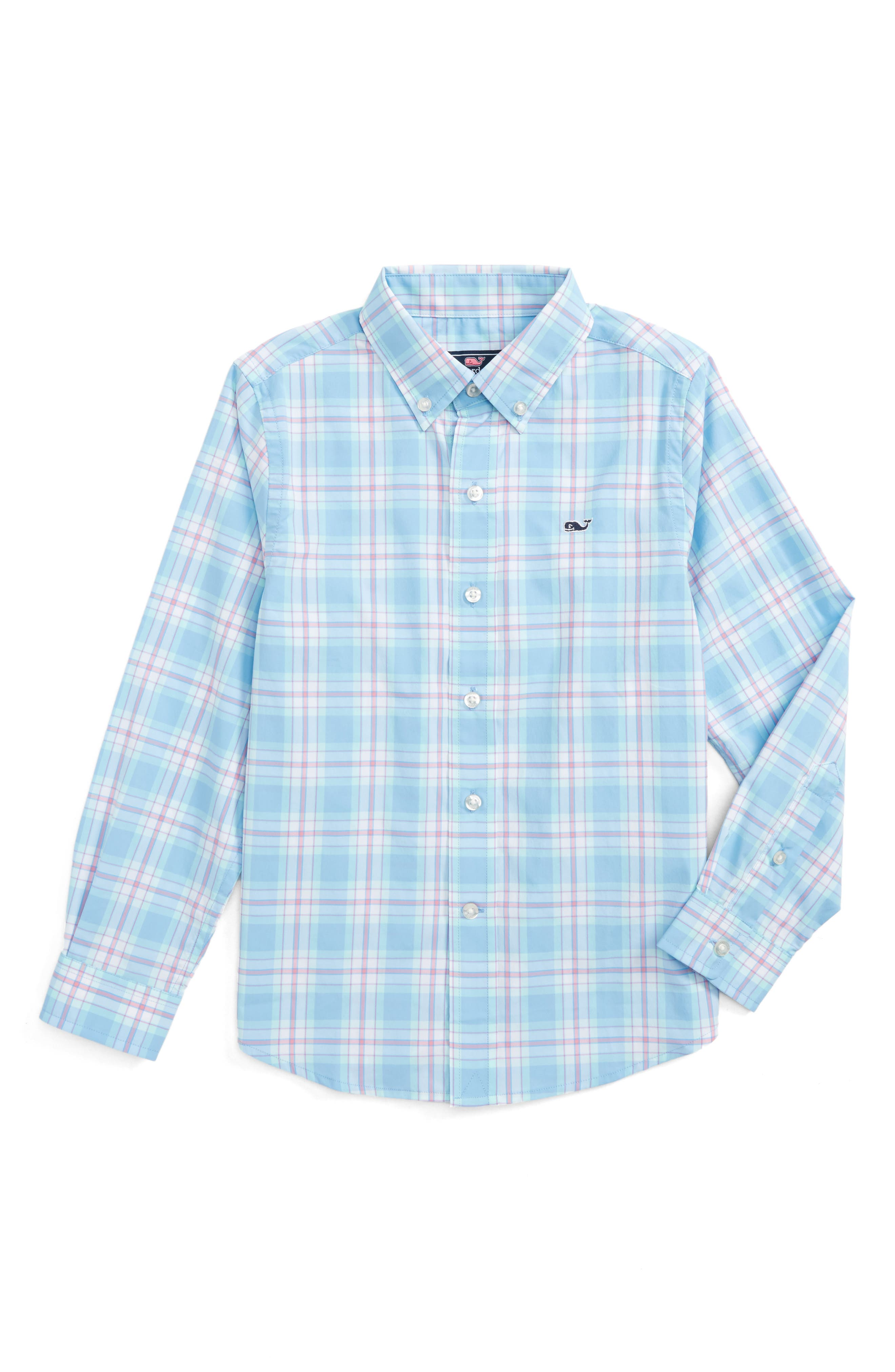 Montauk Point Performance Whale Shirt,                         Main,                         color, 484