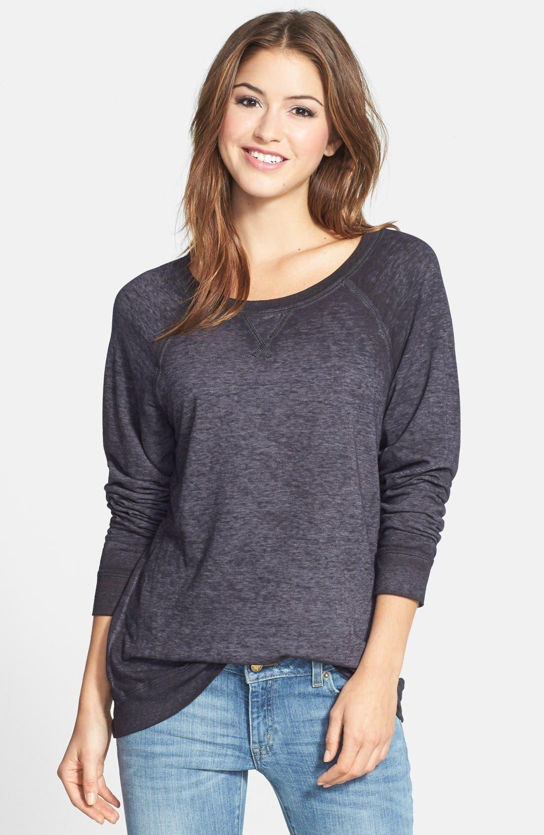 Burnout Sweatshirt,                         Main,                         color,