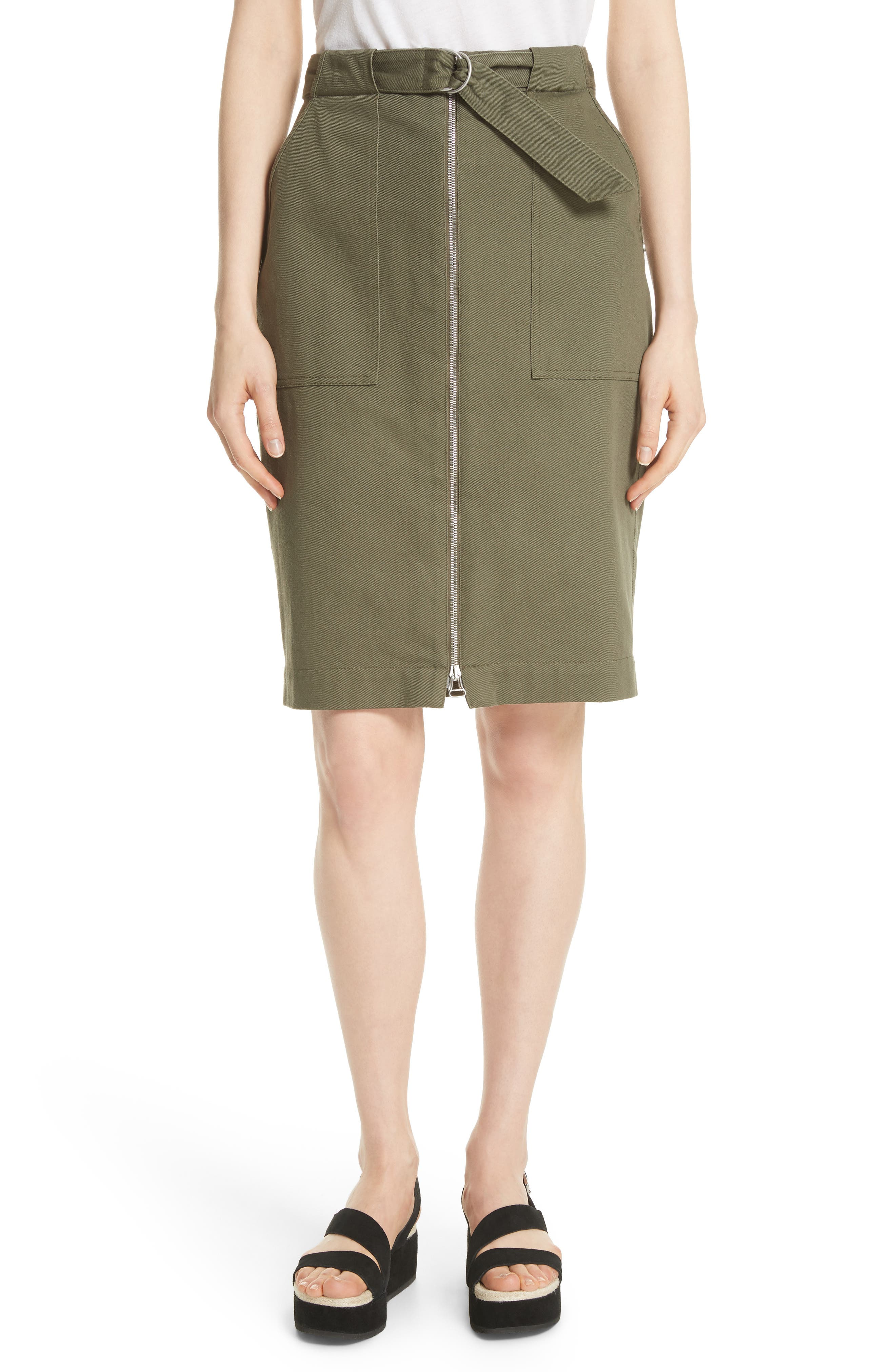 Lora Utility Pencil Skirt by Nordstrom