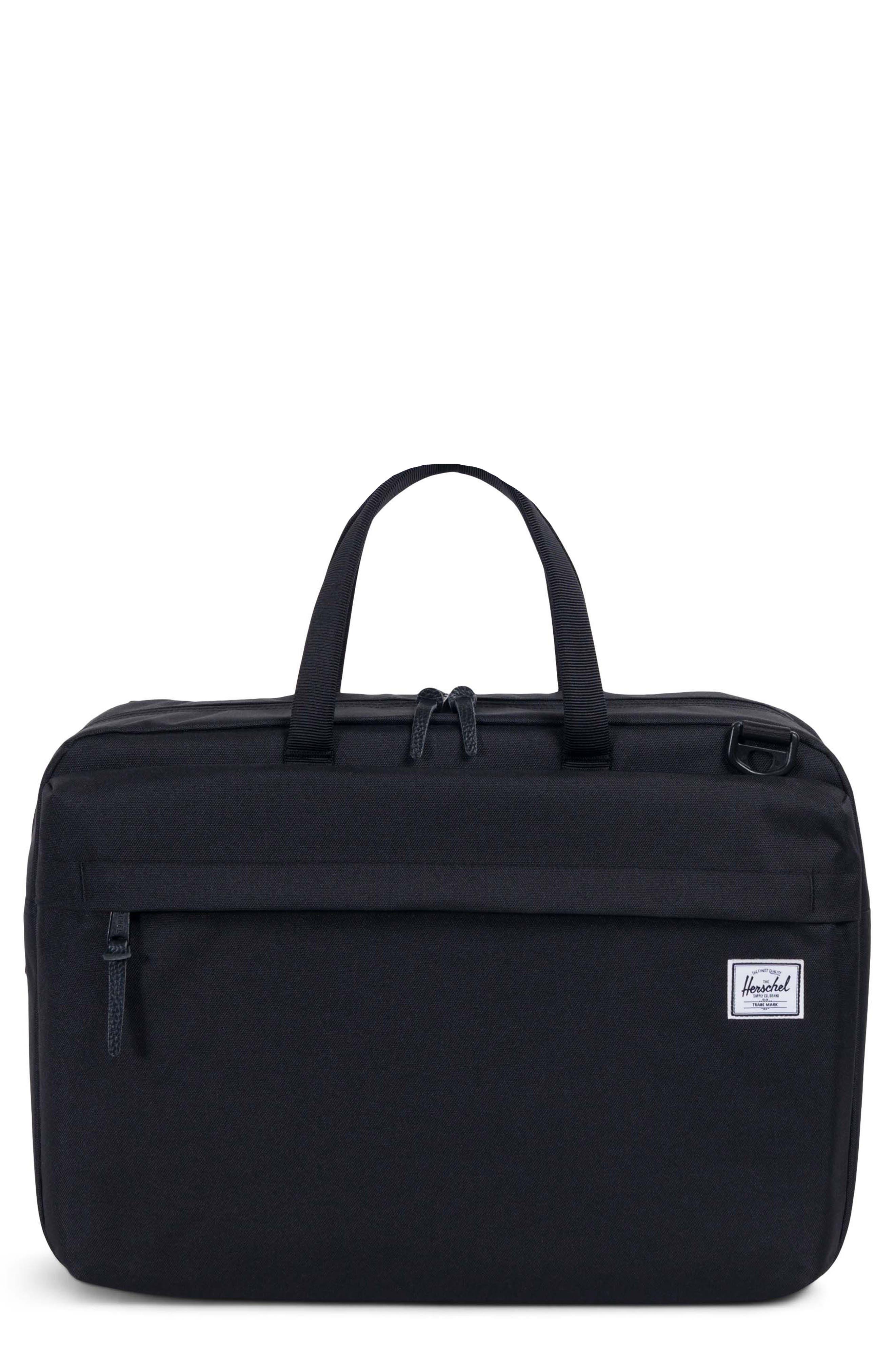 Sandford Messenger Bag,                         Main,                         color, BLACK