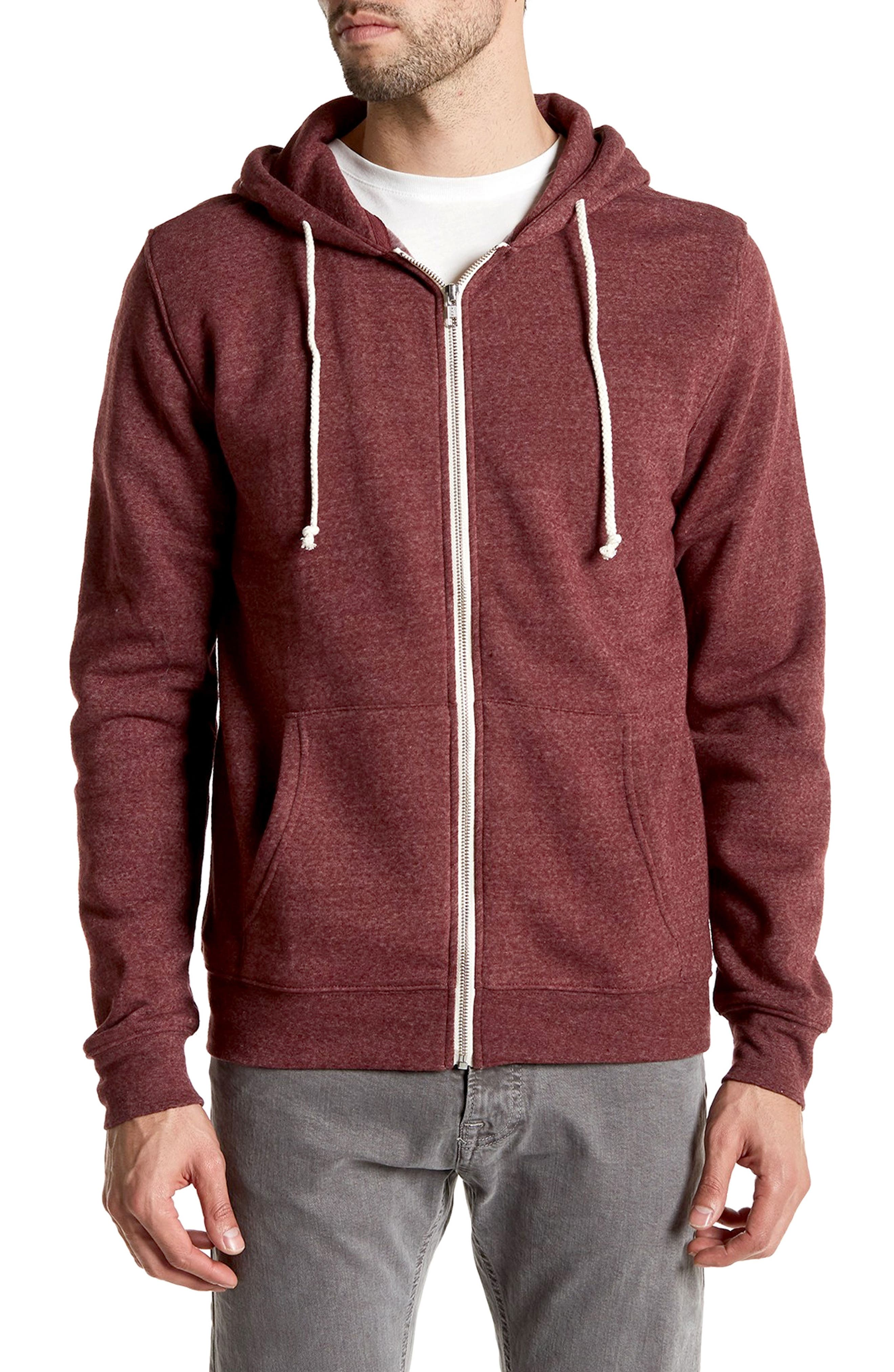 Threads for Thought Trim Fit Heathered Hoodie,                             Main thumbnail 17, color,
