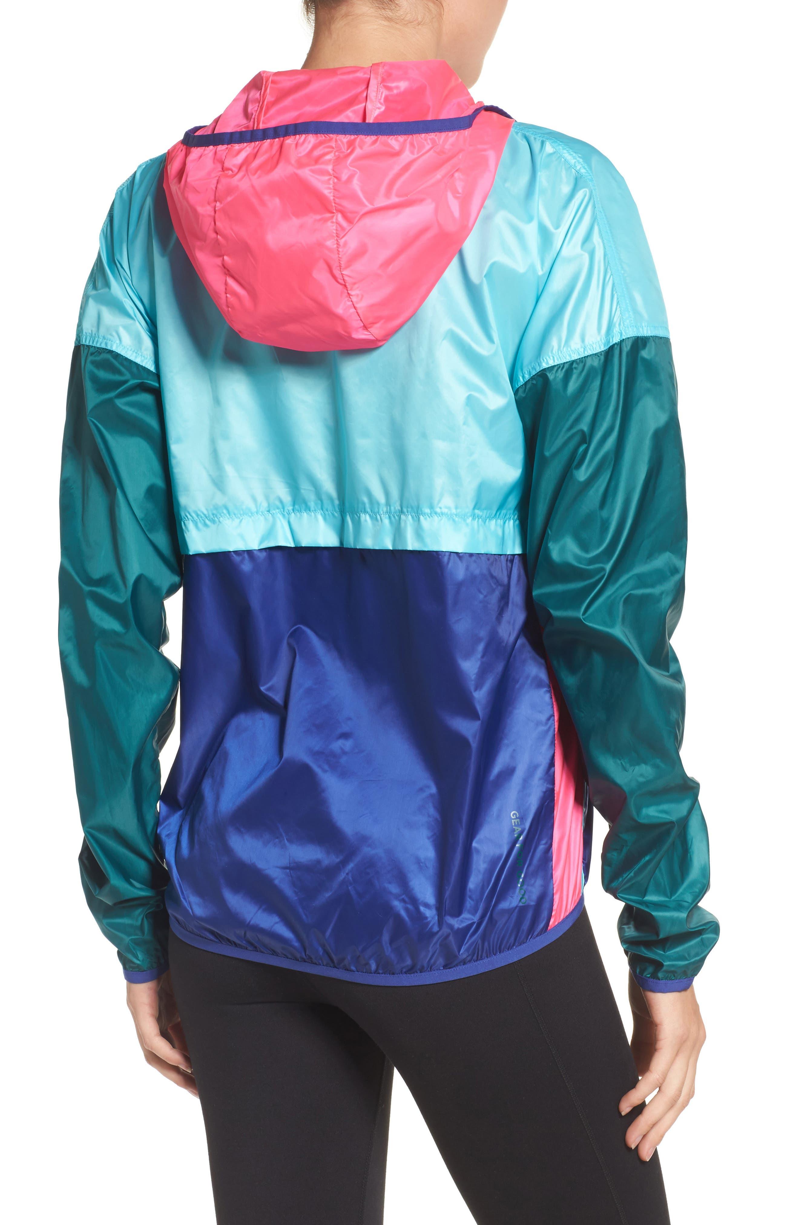 Teca Packable Water Resistant Windbreaker Jacket,                             Alternate thumbnail 13, color,