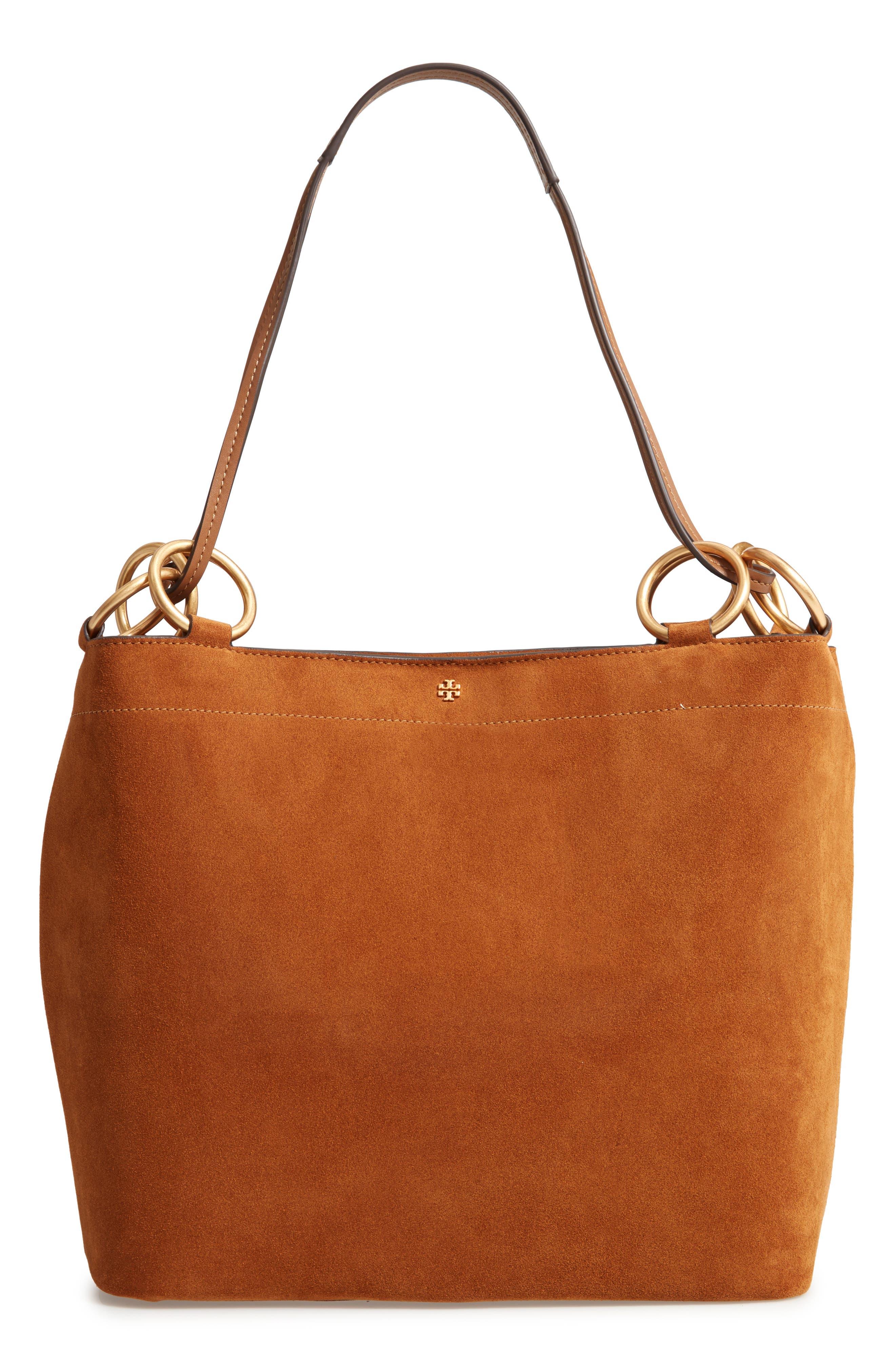 Farrah Leather Tote,                         Main,                         color, 200