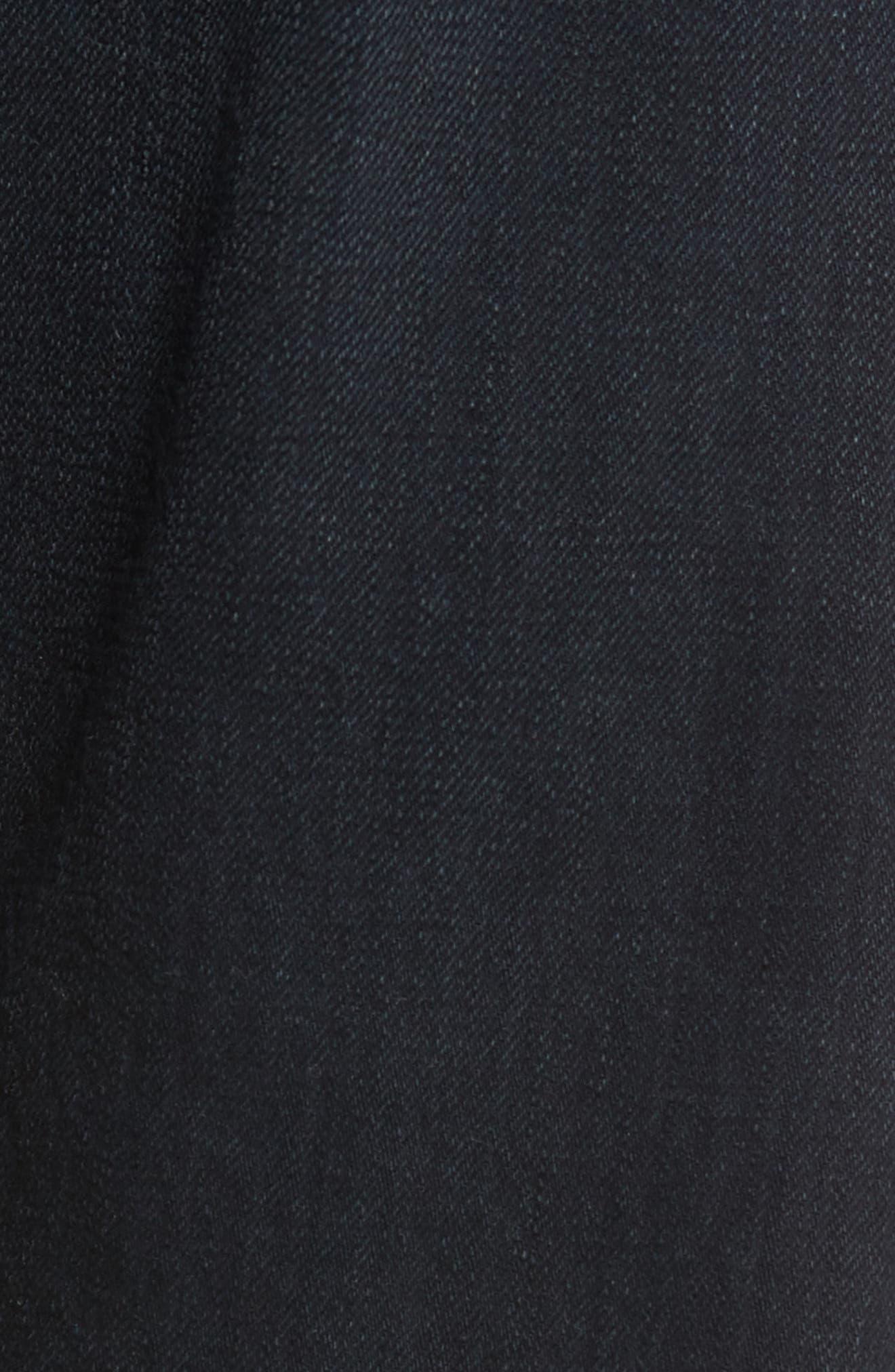 Slim Straight Leg Jeans,                             Alternate thumbnail 5, color,                             004