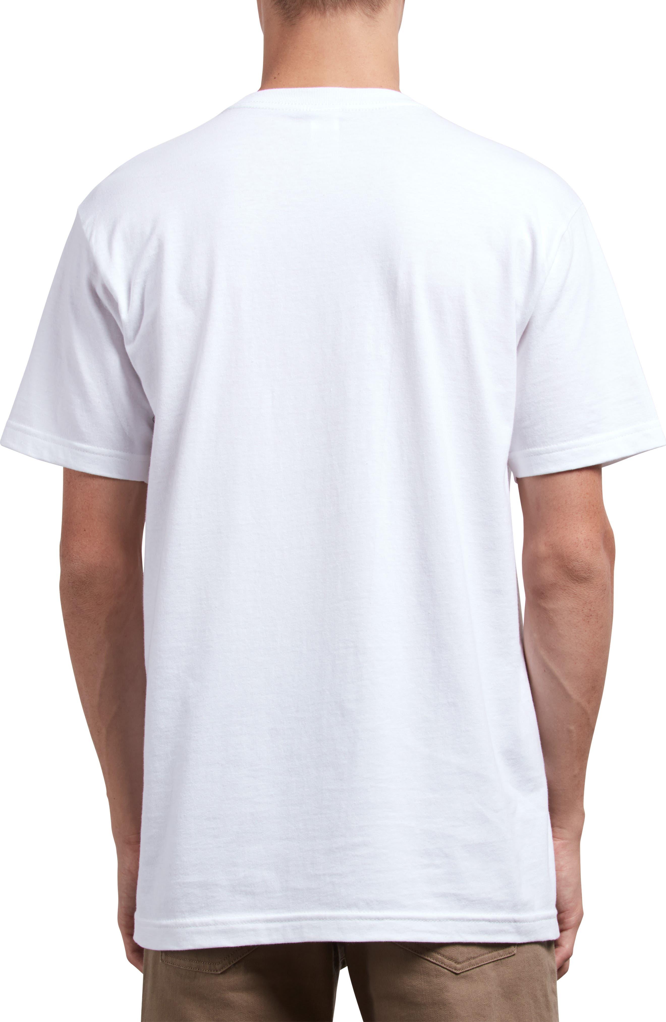 Leaner T-Shirt,                             Alternate thumbnail 2, color,                             WHITE