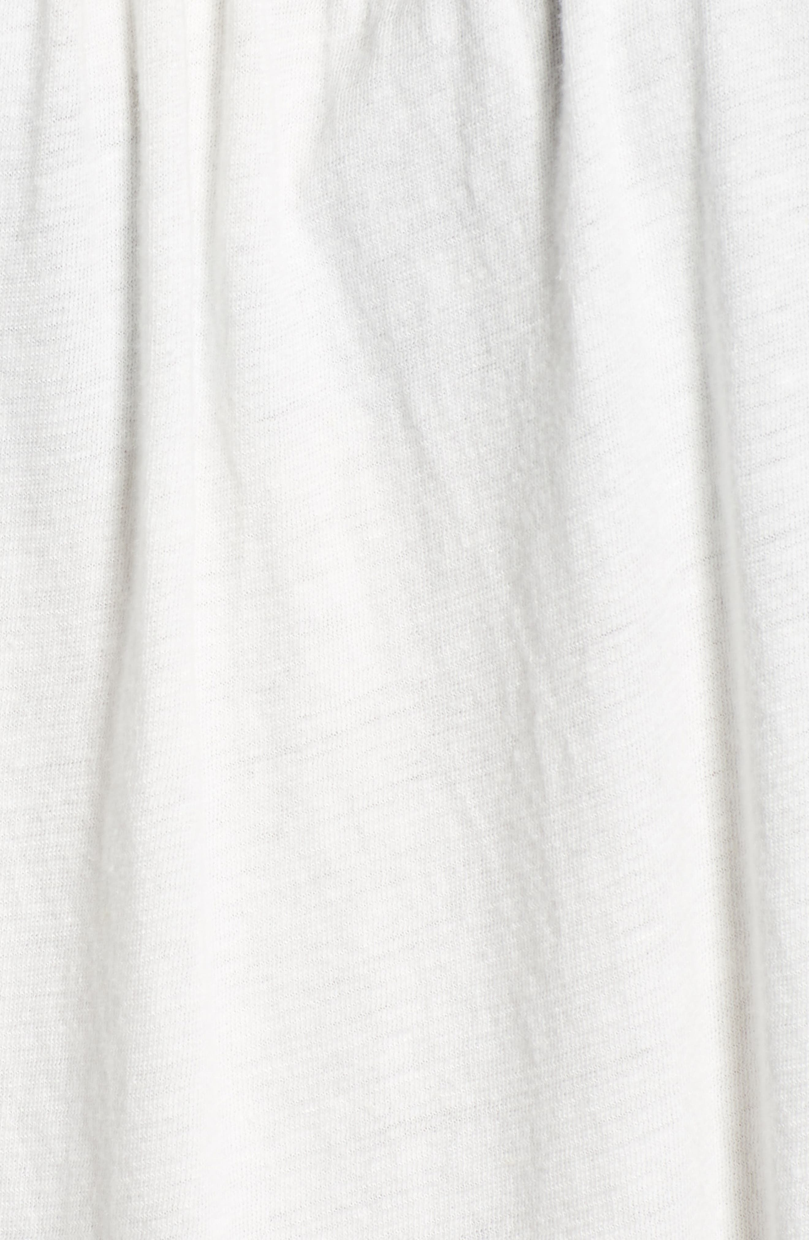 LUCKY BRAND,                             Embroidered Yoke Peasant Top,                             Alternate thumbnail 5, color,                             LUCKY WHITE