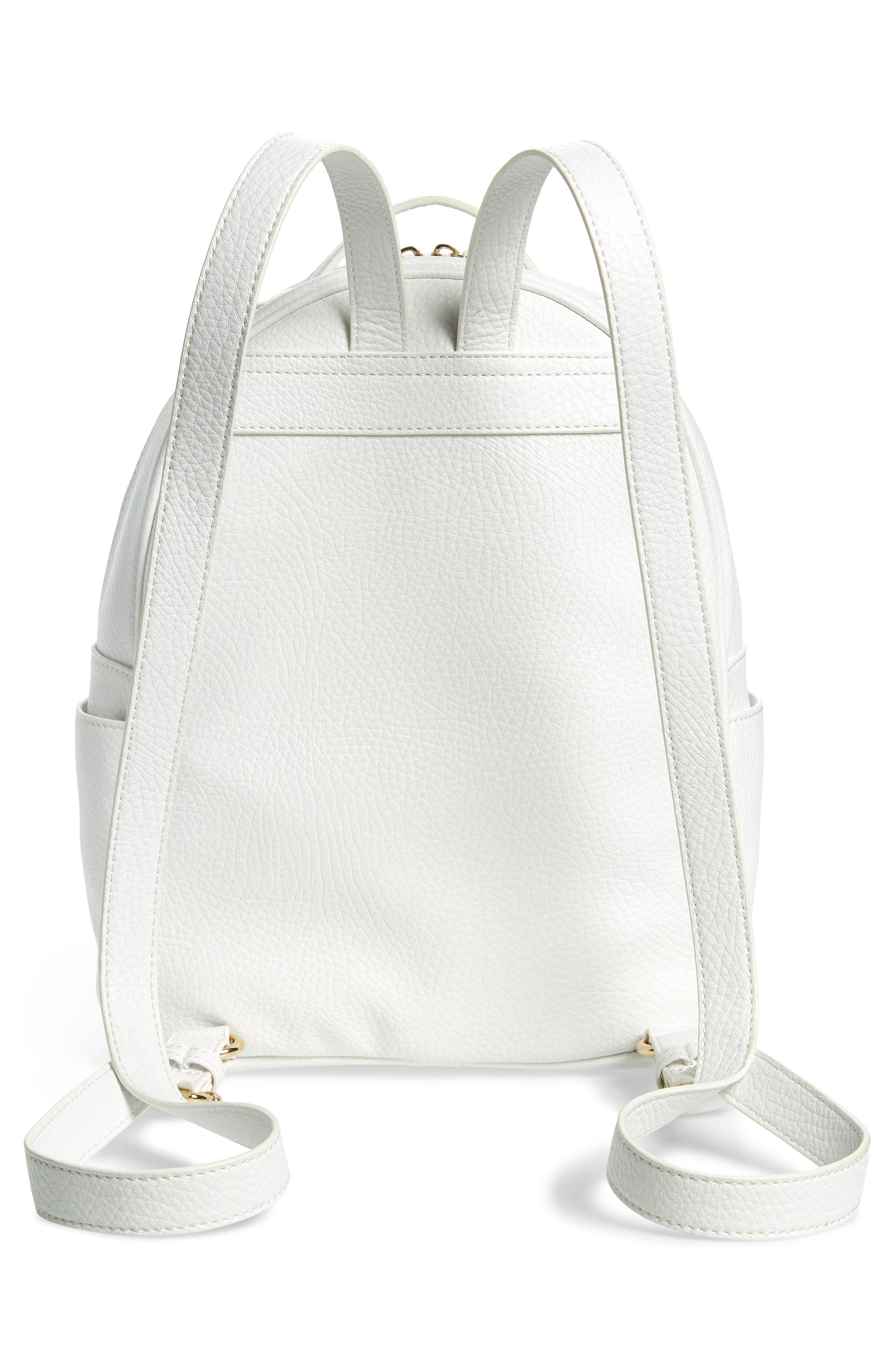 Mali + Lili Madison Vegan Leather Backpack,                             Alternate thumbnail 7, color,