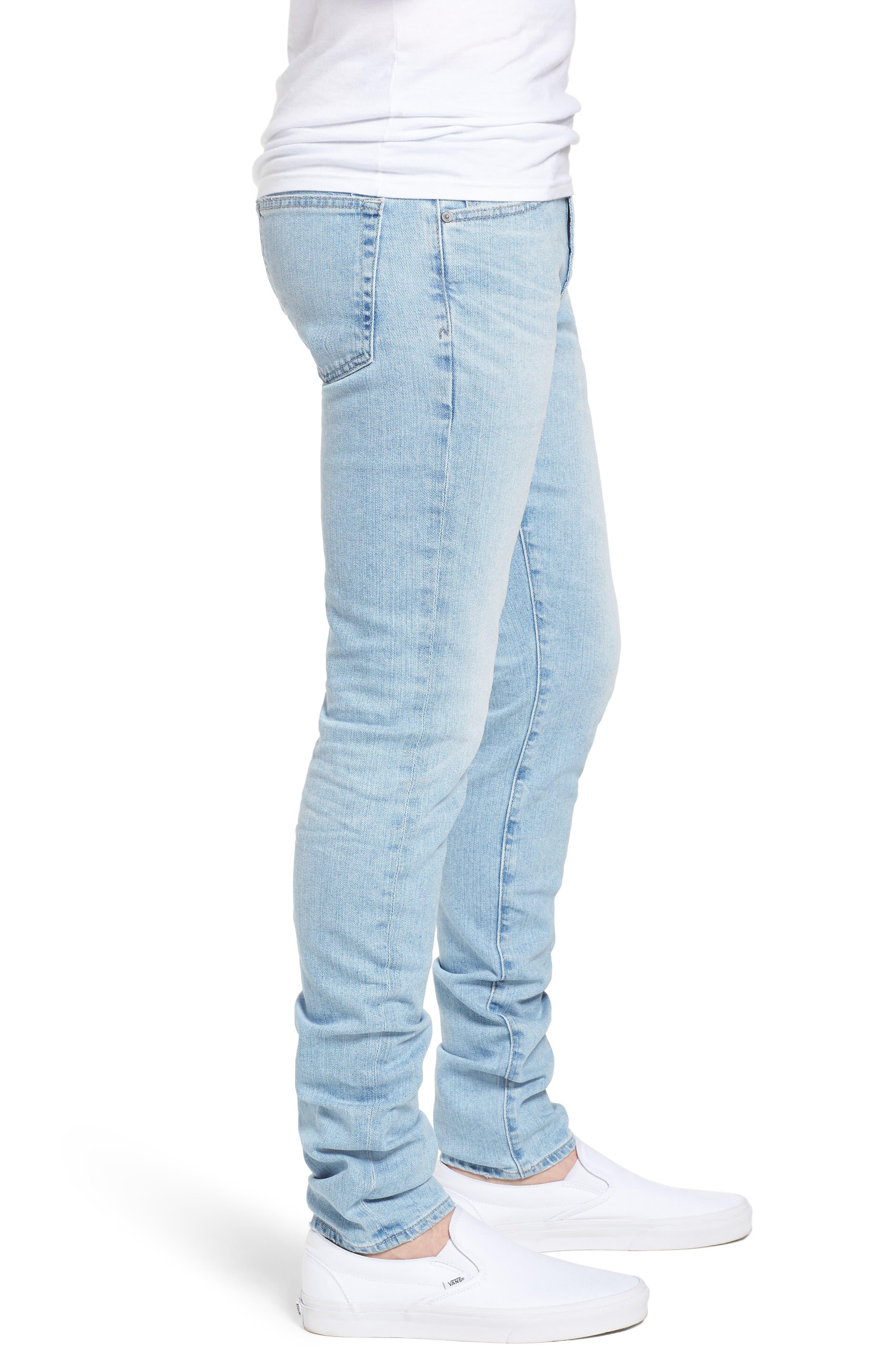 Stockton Skinny Fit Jeans,                             Alternate thumbnail 3, color,                             494