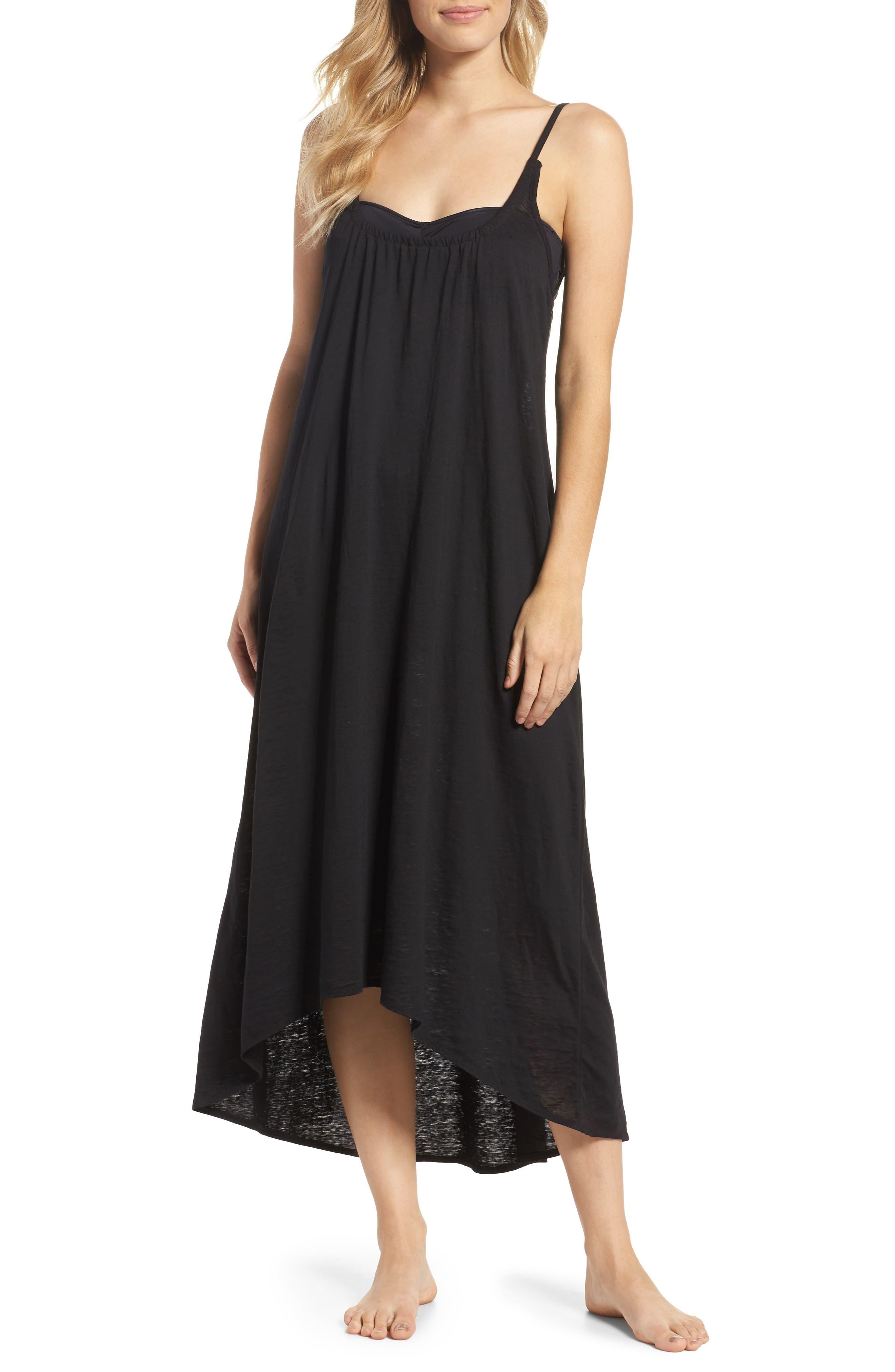 Maxi Cover-Up Dress,                             Main thumbnail 1, color,                             001