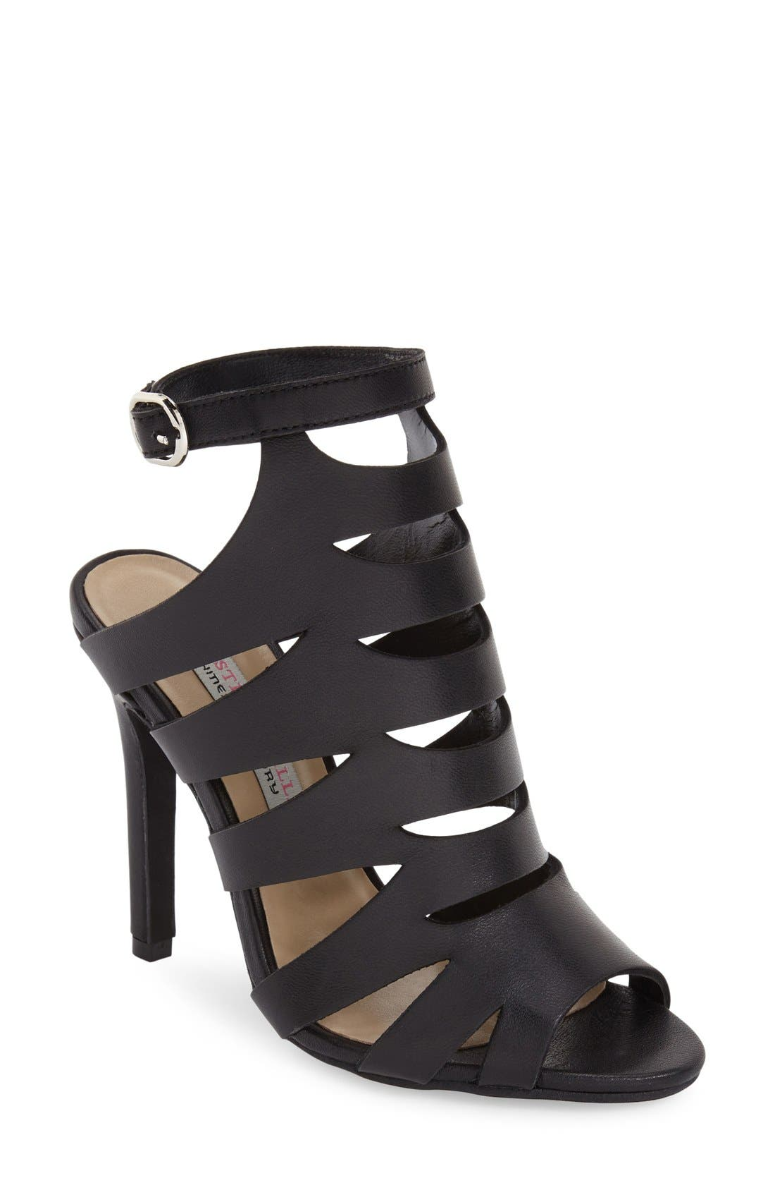 'Poppy' Cage Sandal,                         Main,                         color,
