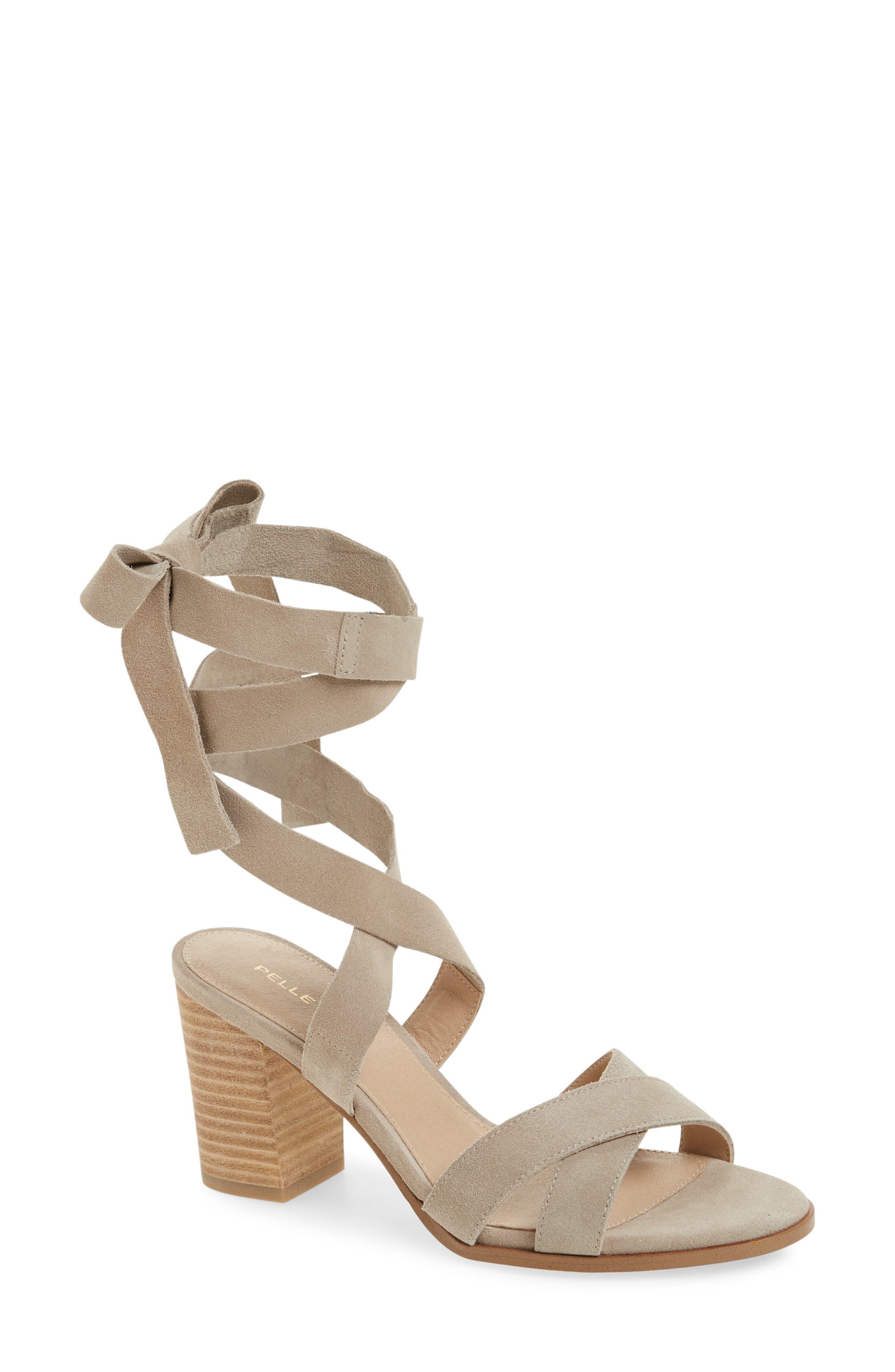 Bonjour Ankle Wrap Sandal,                             Main thumbnail 2, color,