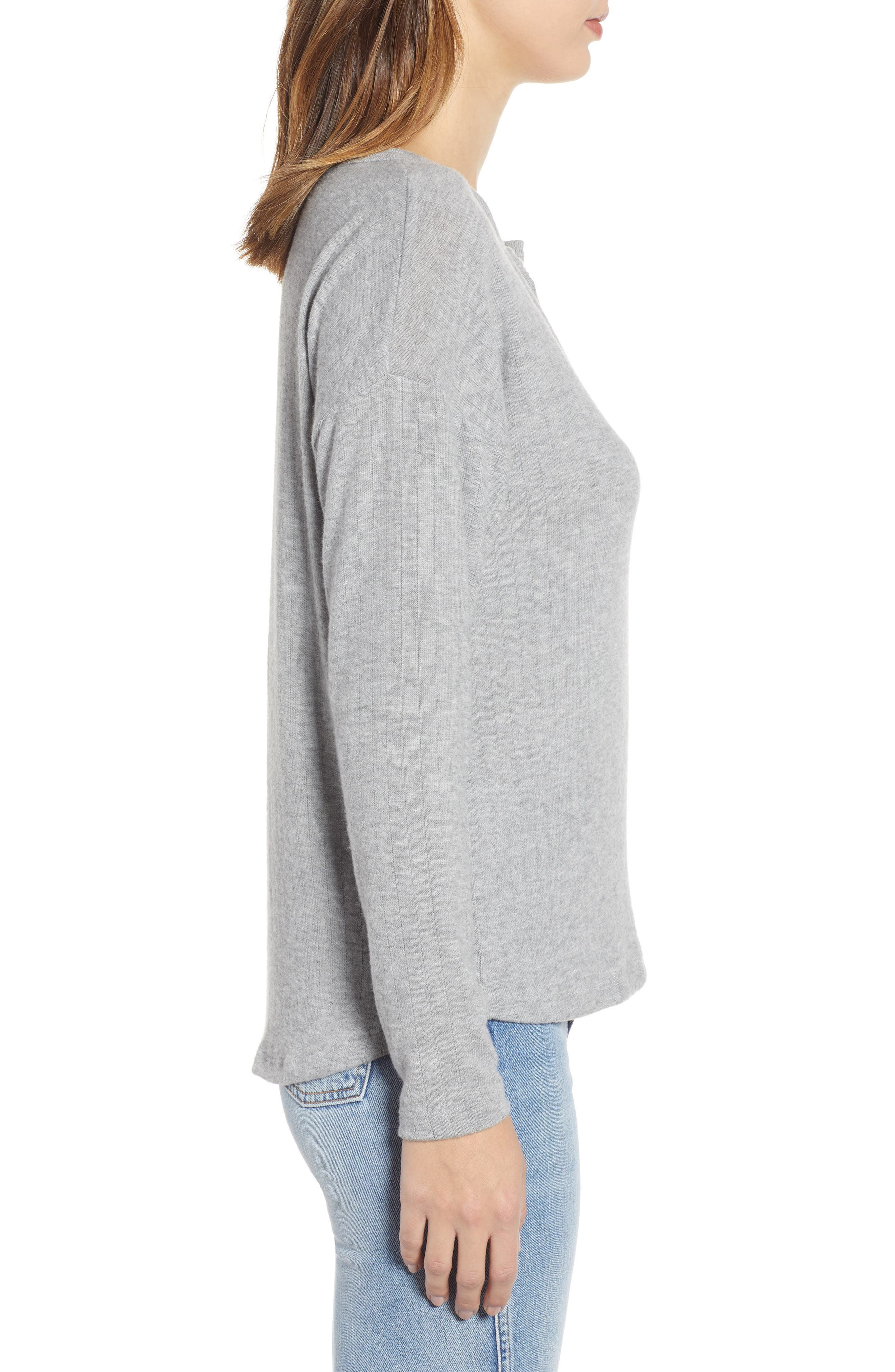 PST BY PROJECT SOCIAL T,                             e Cozy Tee,                             Alternate thumbnail 3, color,                             GREY