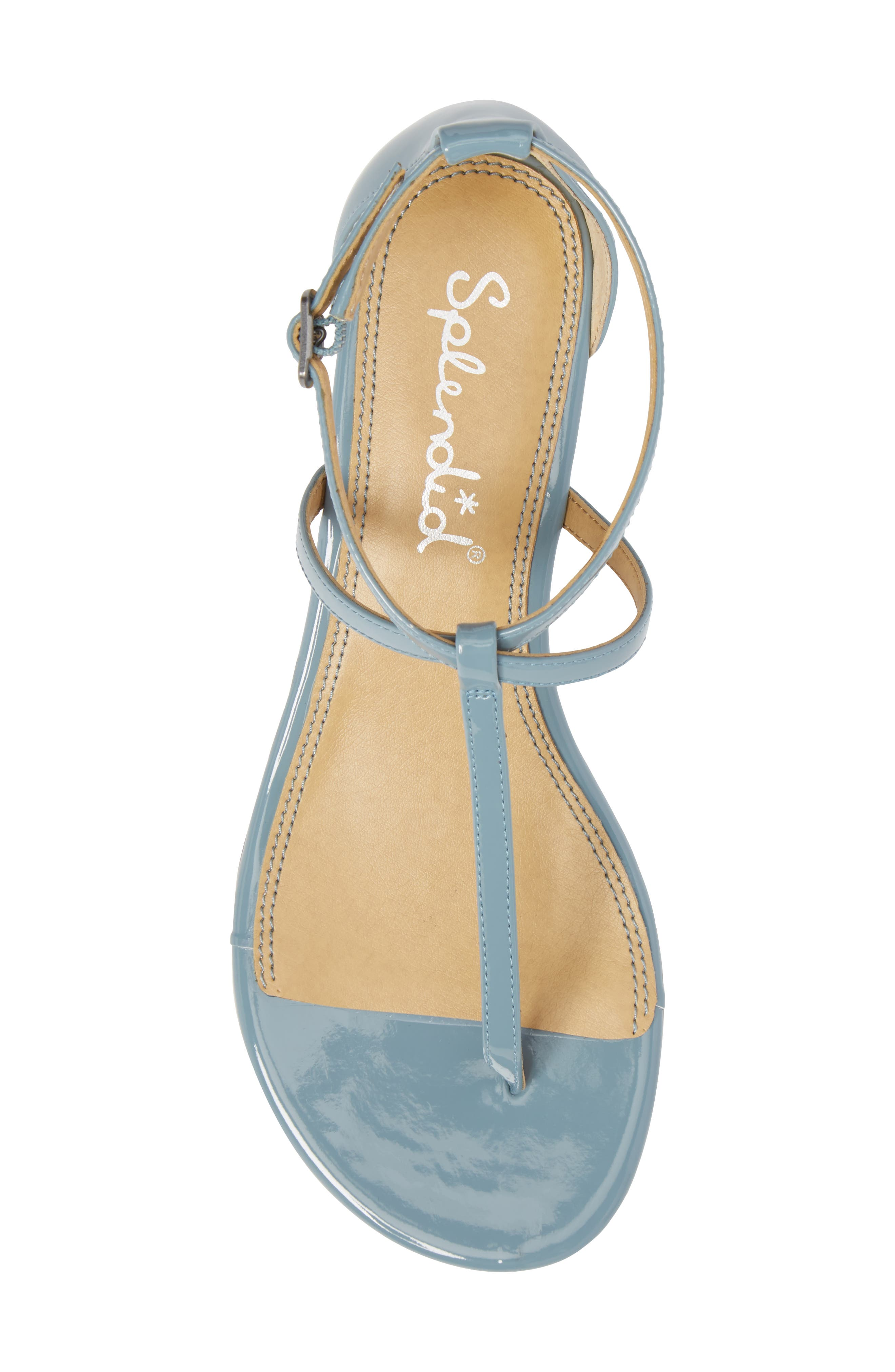 Bryce T-Strap Wedge Sandal,                             Alternate thumbnail 28, color,