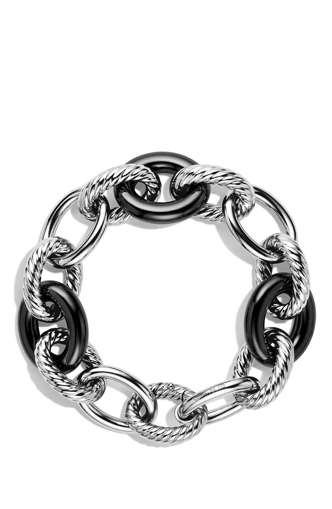 'Oval' Extra-Large Ceramic Link Bracelet,                             Alternate thumbnail 2, color,                             010