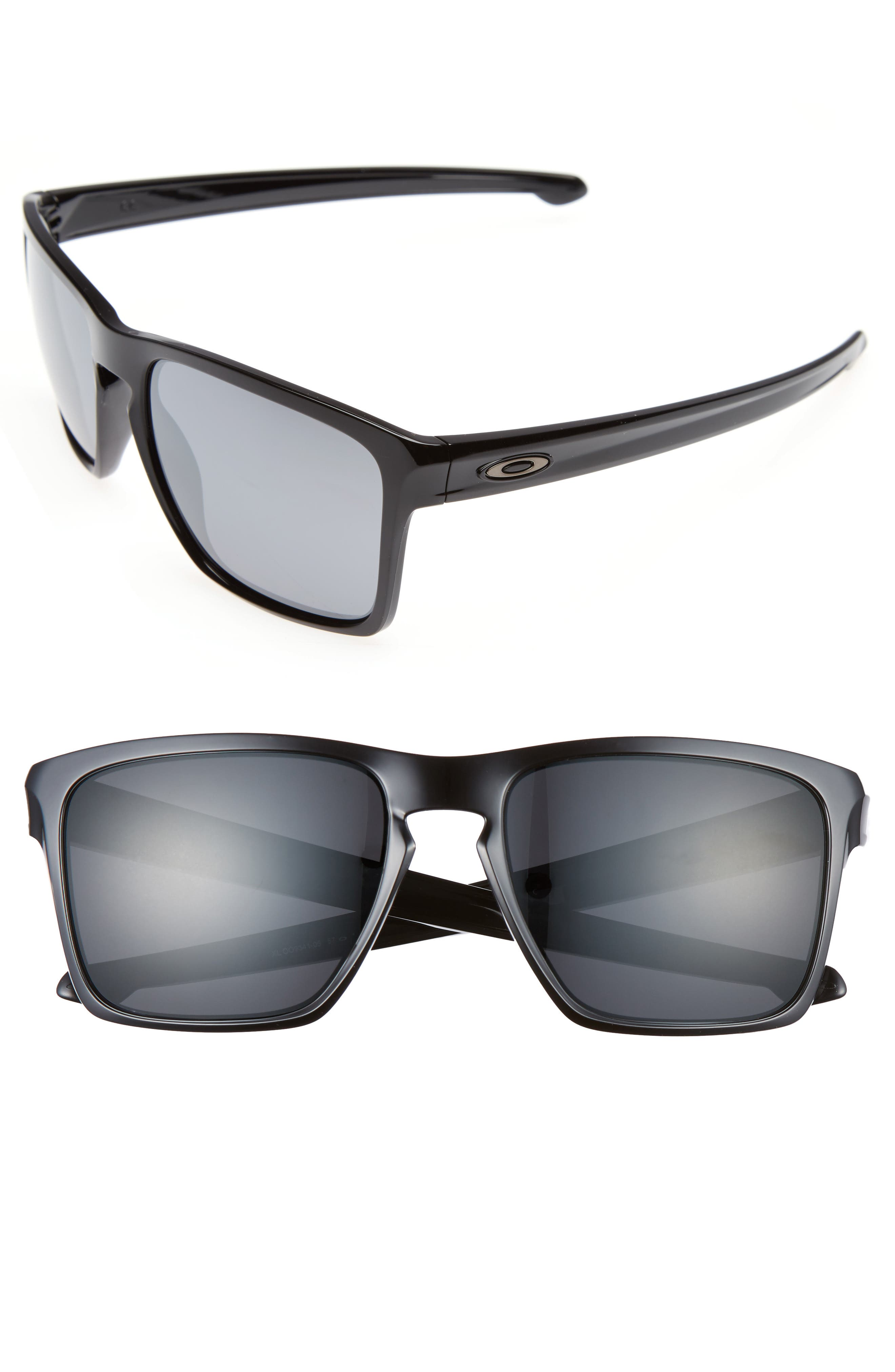 Silver XL 57mm Sunglasses,                             Main thumbnail 1, color,                             001
