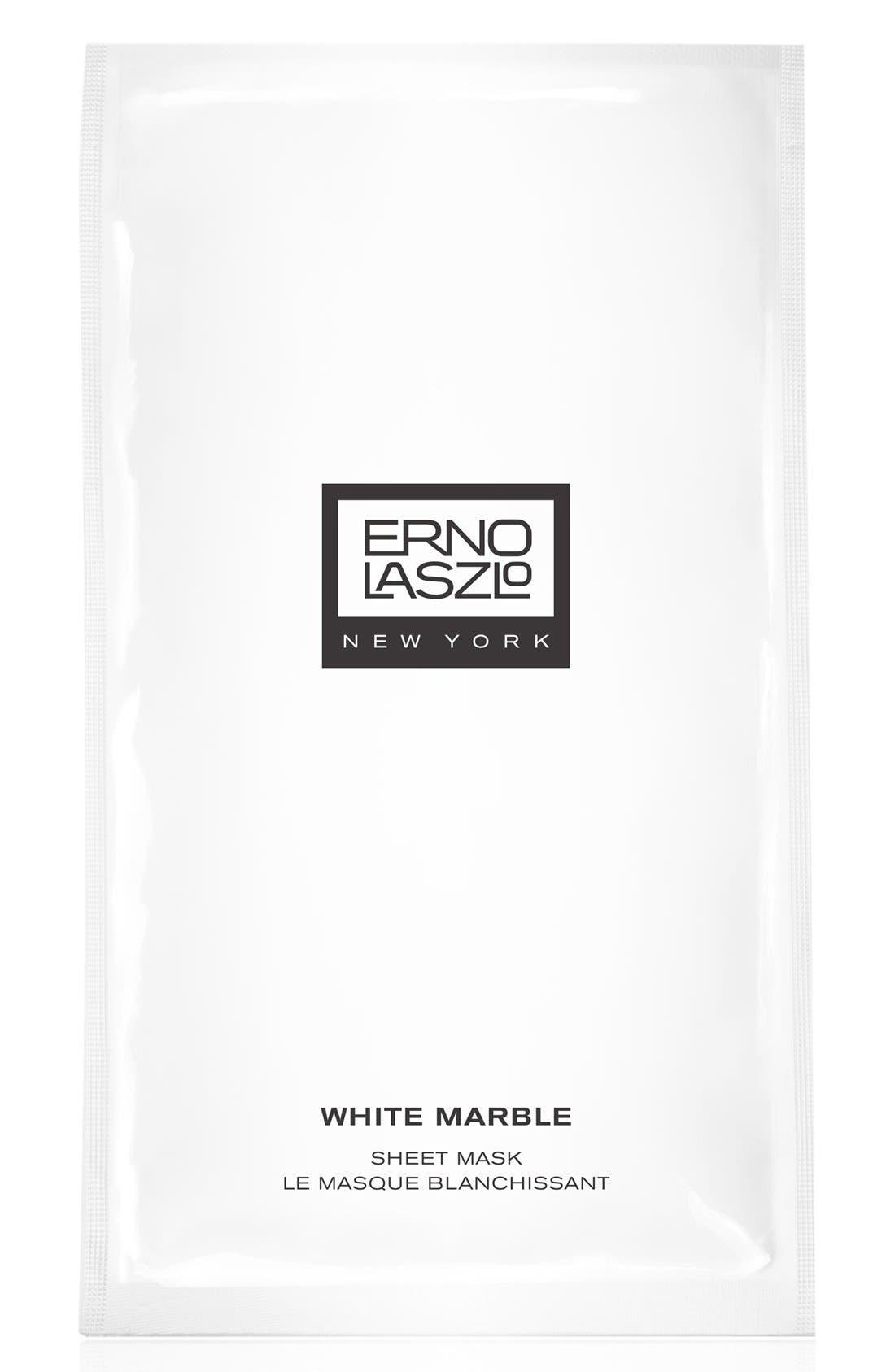 'White Marble' Sheet Mask,                             Alternate thumbnail 2, color,                             000