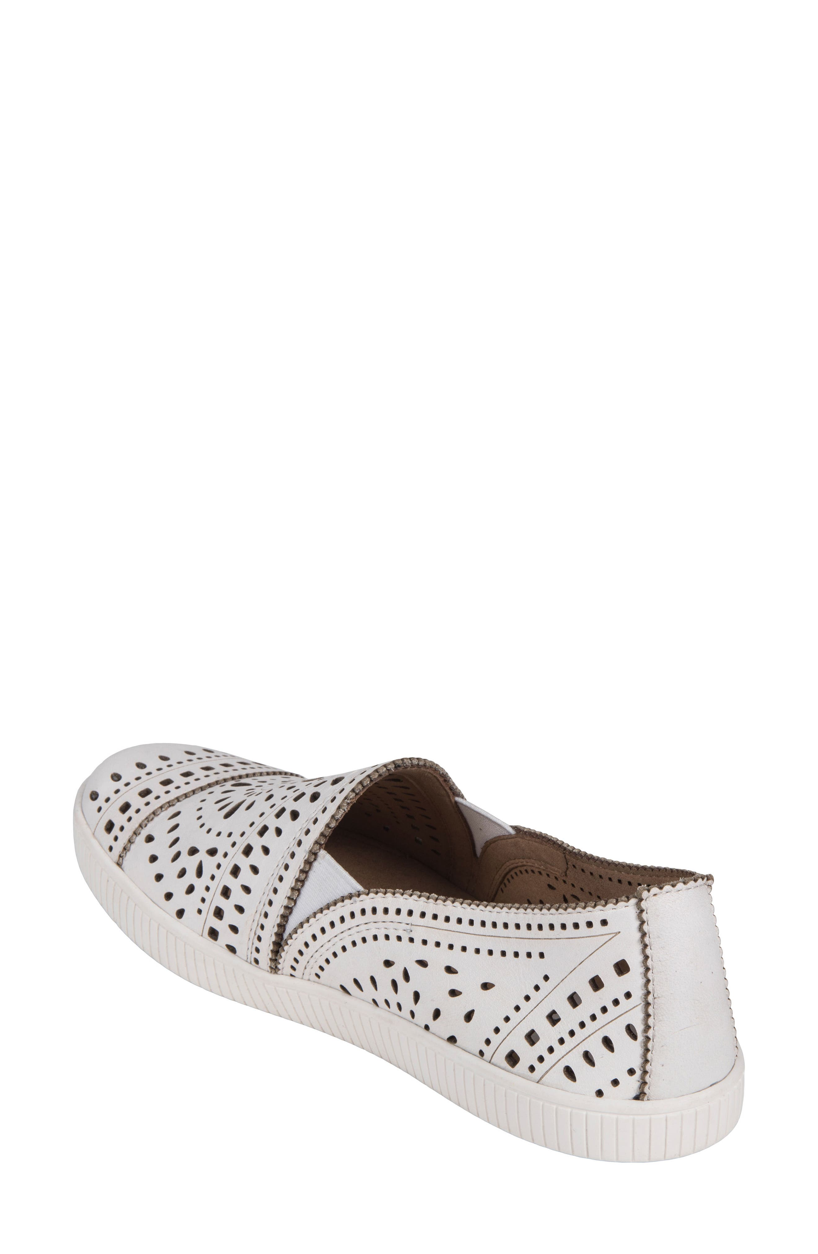 Tayberry Perforated Slip-On Sneaker,                             Alternate thumbnail 6, color,
