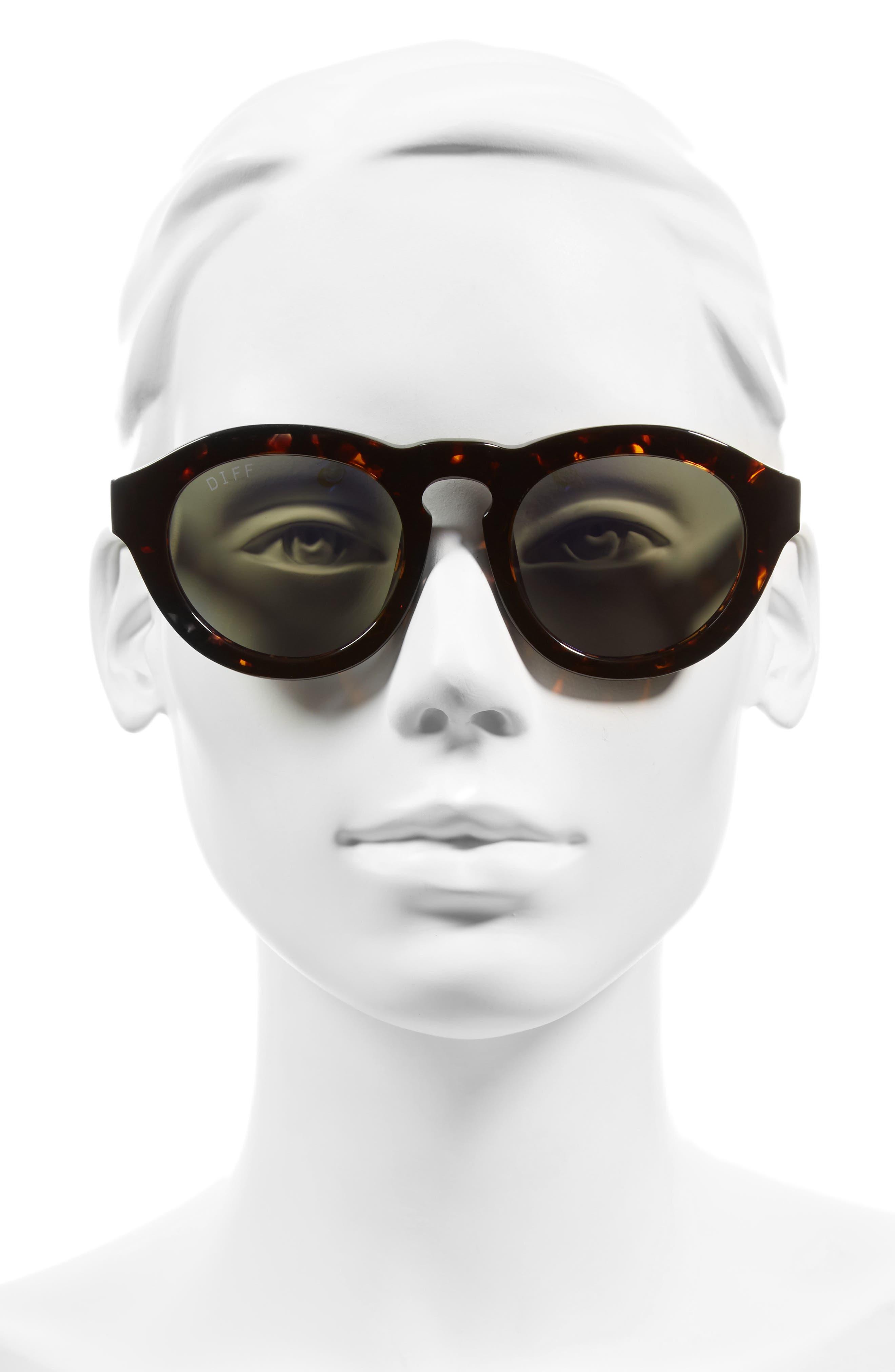 Dime 48mm Retro Sunglasses,                             Alternate thumbnail 22, color,
