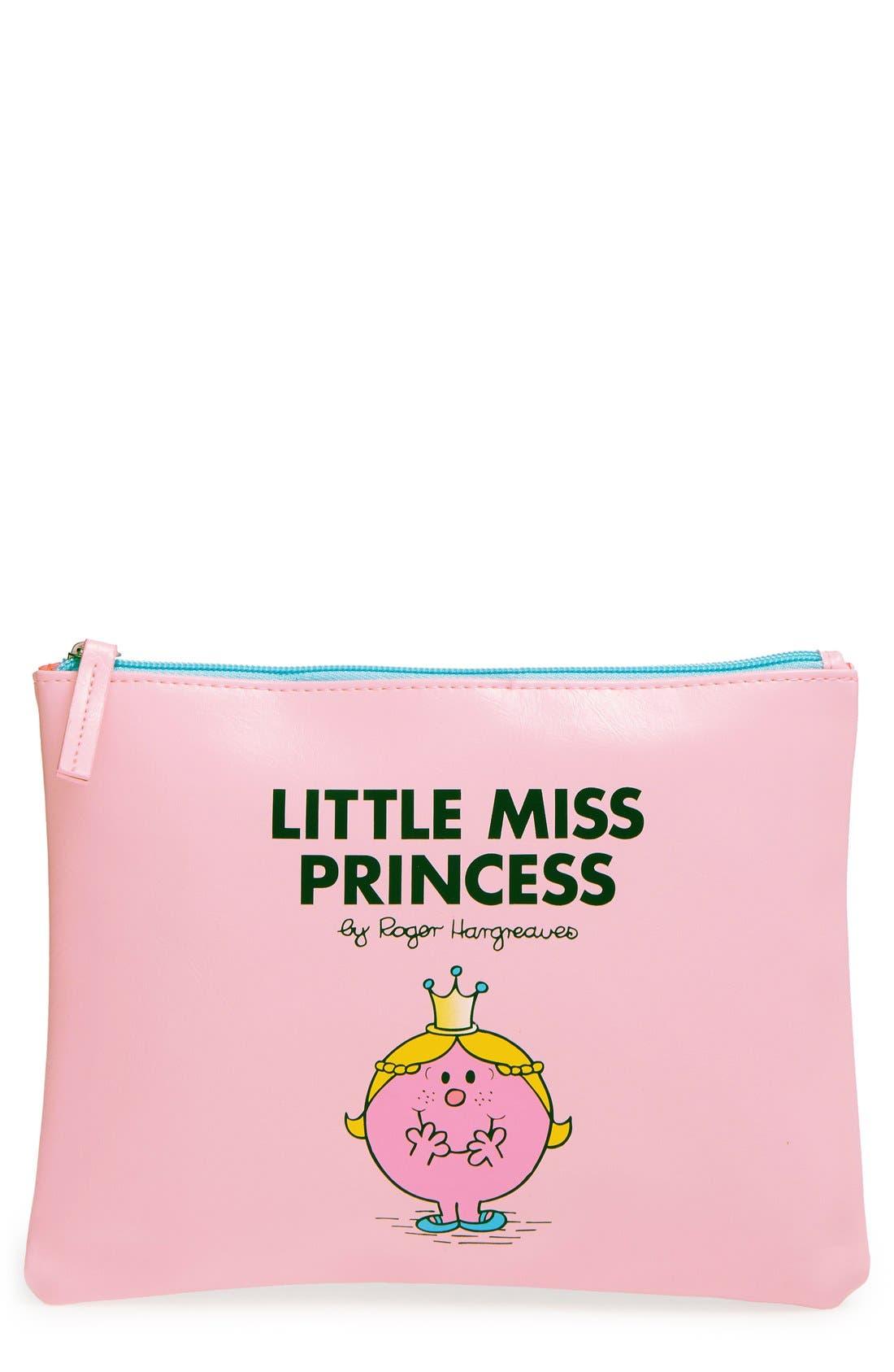 'Little Miss Princess' Pouch,                         Main,                         color, 650