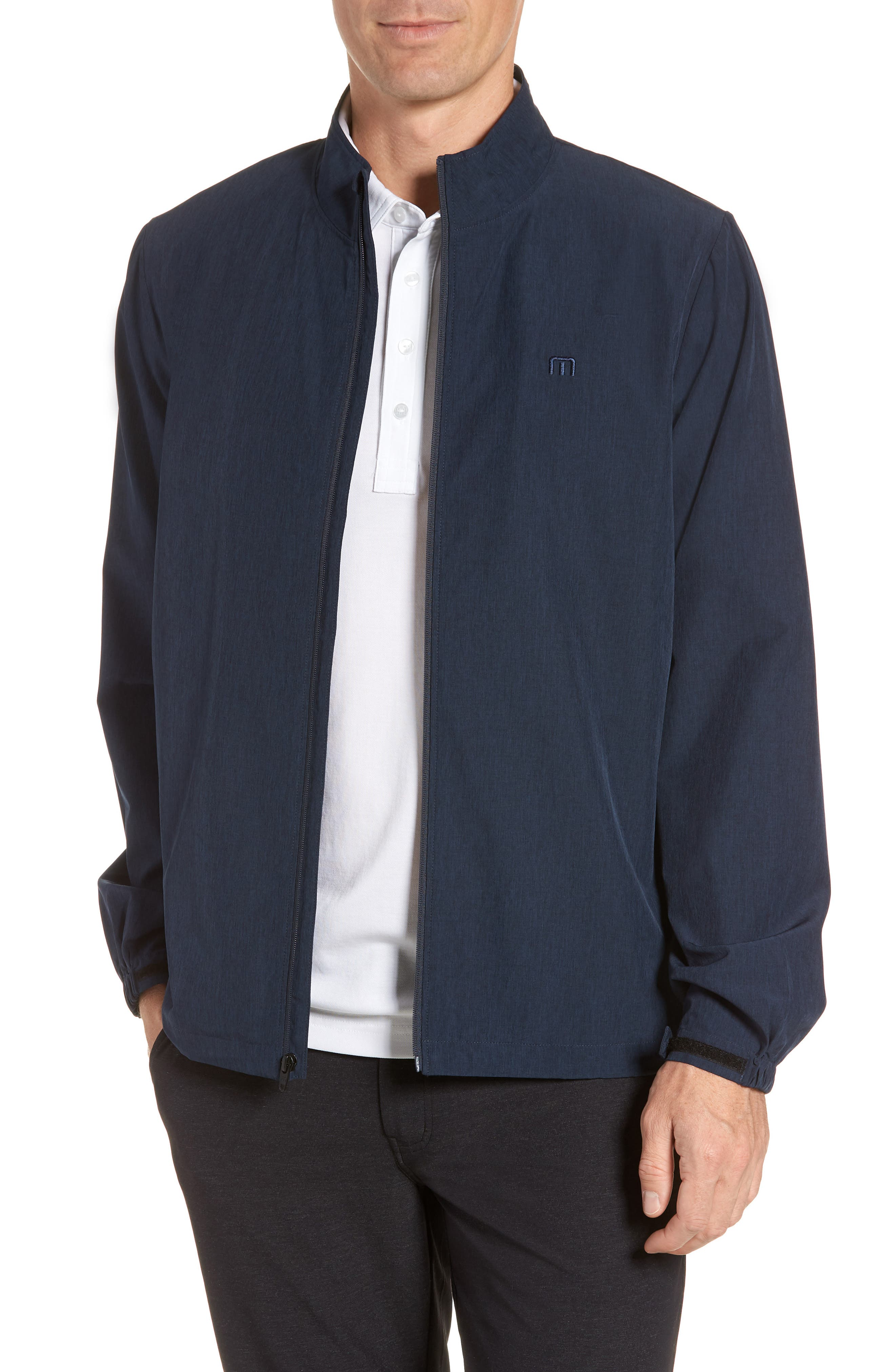 Road Soda Jacket,                         Main,                         color, HEATHER BLUE NIGHTS