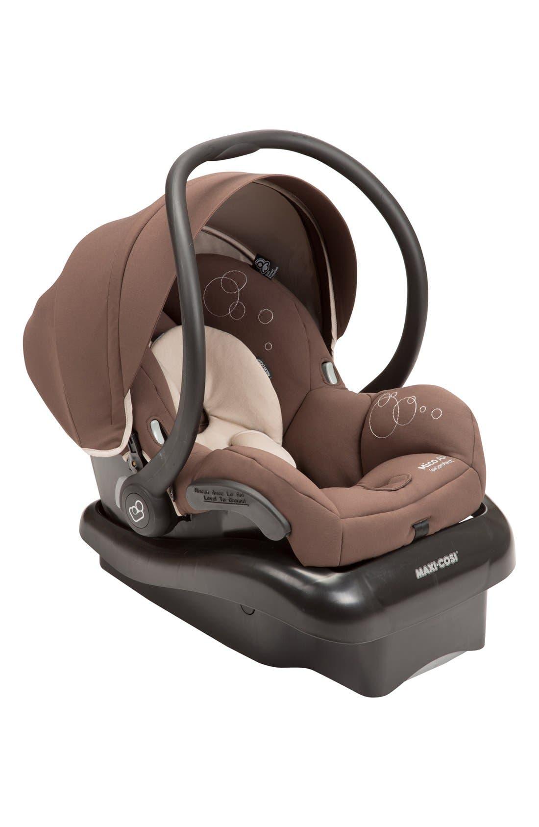 Mico AP Infant Car Seat & Base,                             Main thumbnail 1, color,                             MILK CHOCOLATE