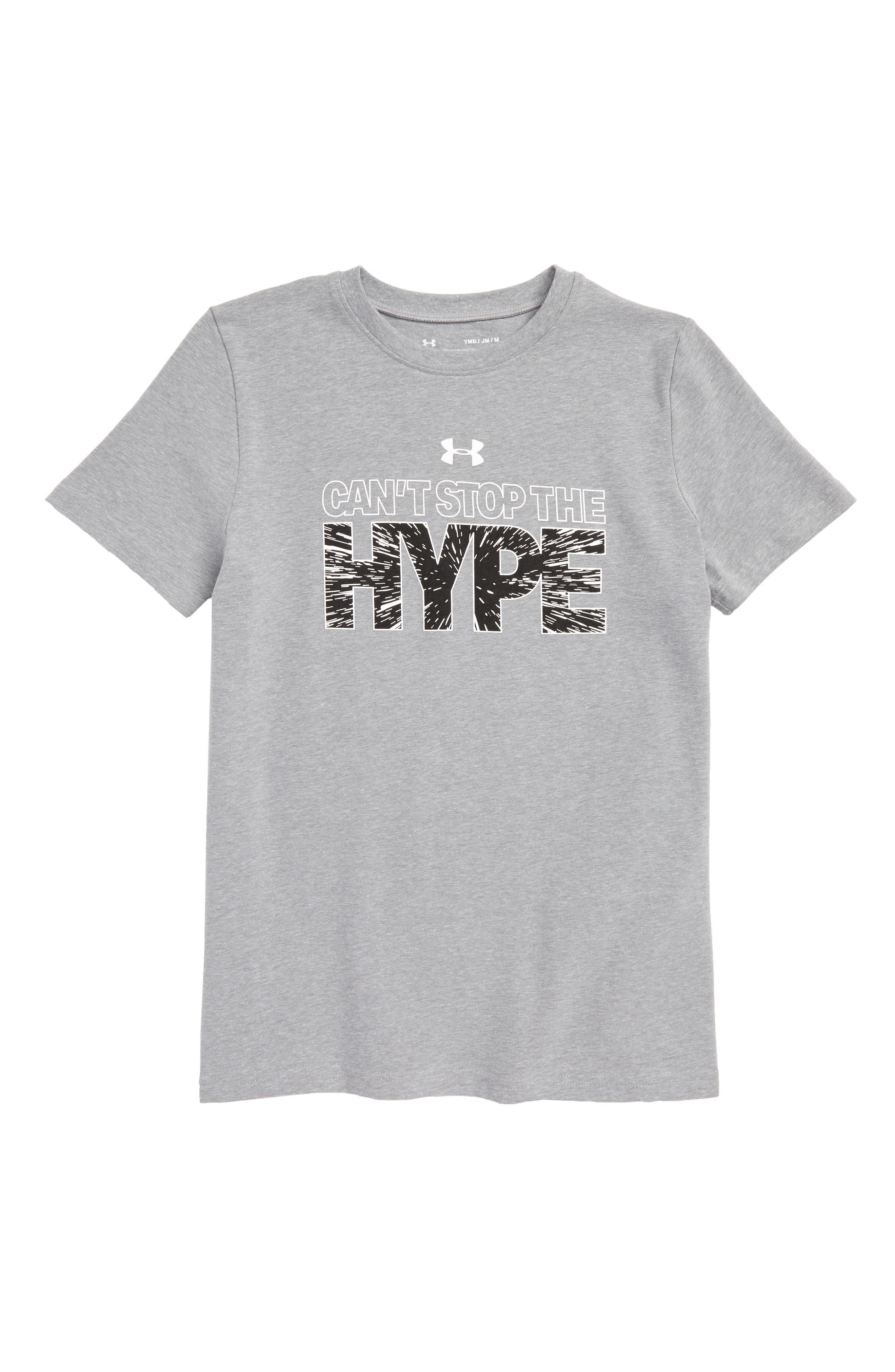 Can't Stop the Hype HeatGear<sup>®</sup> Graphic T-Shirt,                             Main thumbnail 1, color,                             035