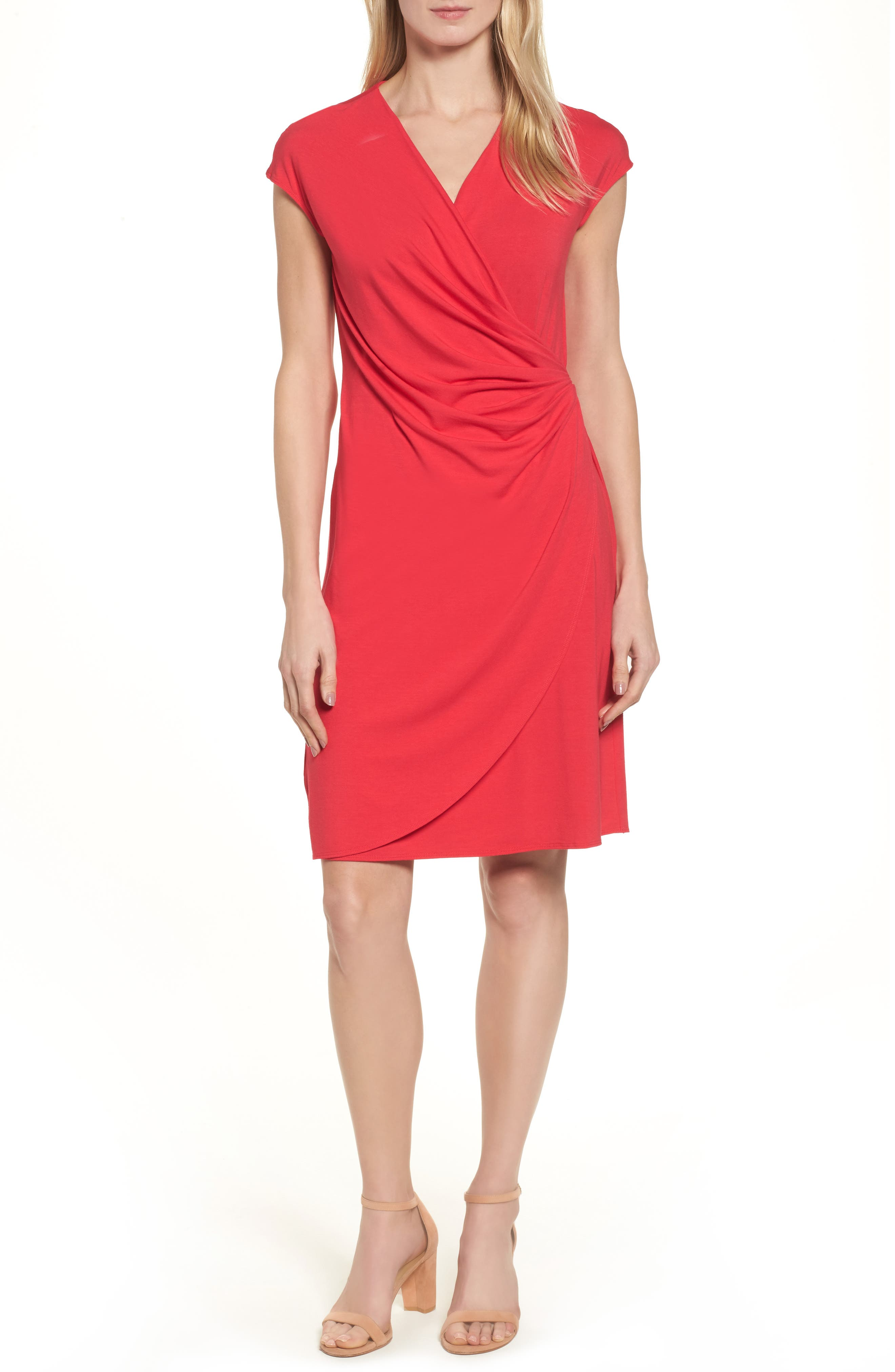 'Tambour' Side Gathered Dress,                             Alternate thumbnail 31, color,