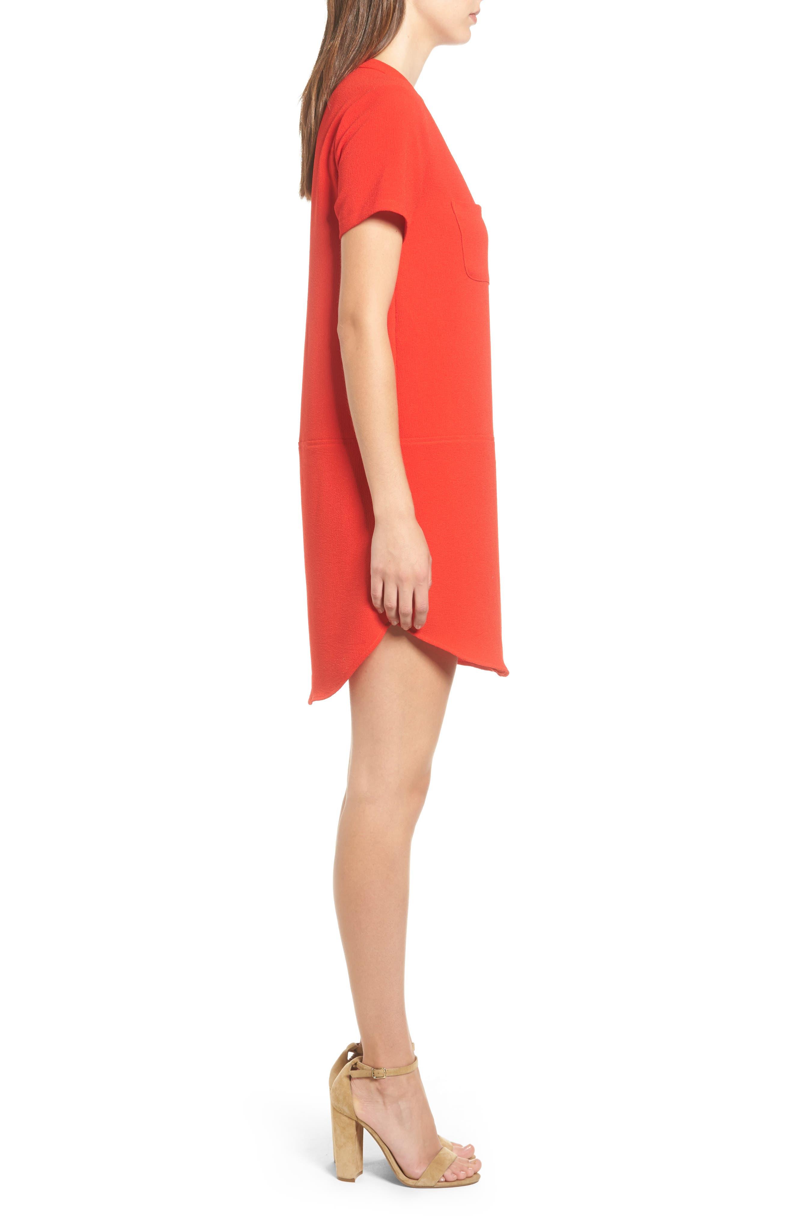 Hailey Crepe Dress,                             Alternate thumbnail 73, color,