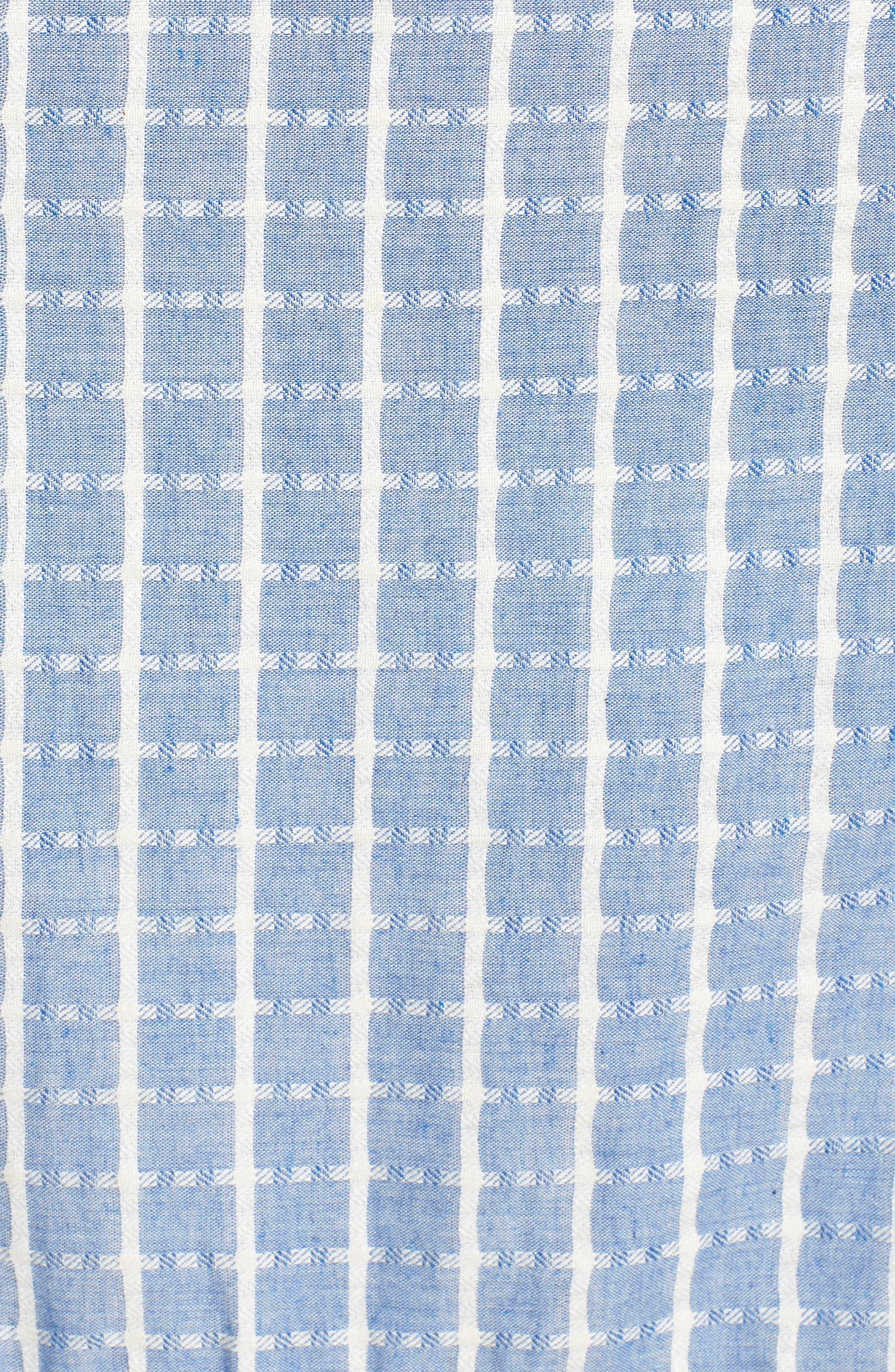 Tie Waist Cotton Maxi Dress,                             Alternate thumbnail 19, color,