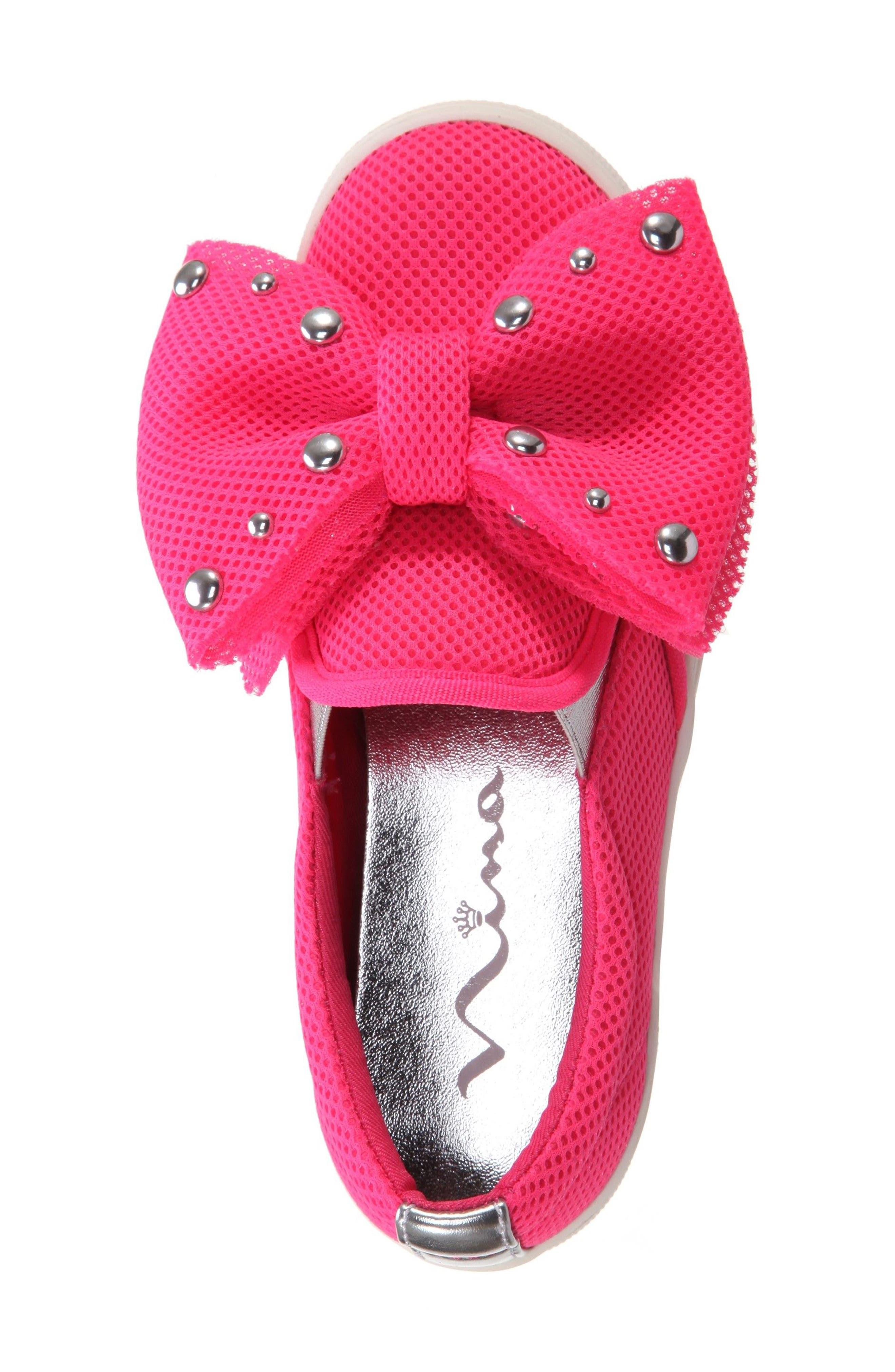 Mary Bow Slip-On Sneaker,                             Alternate thumbnail 14, color,