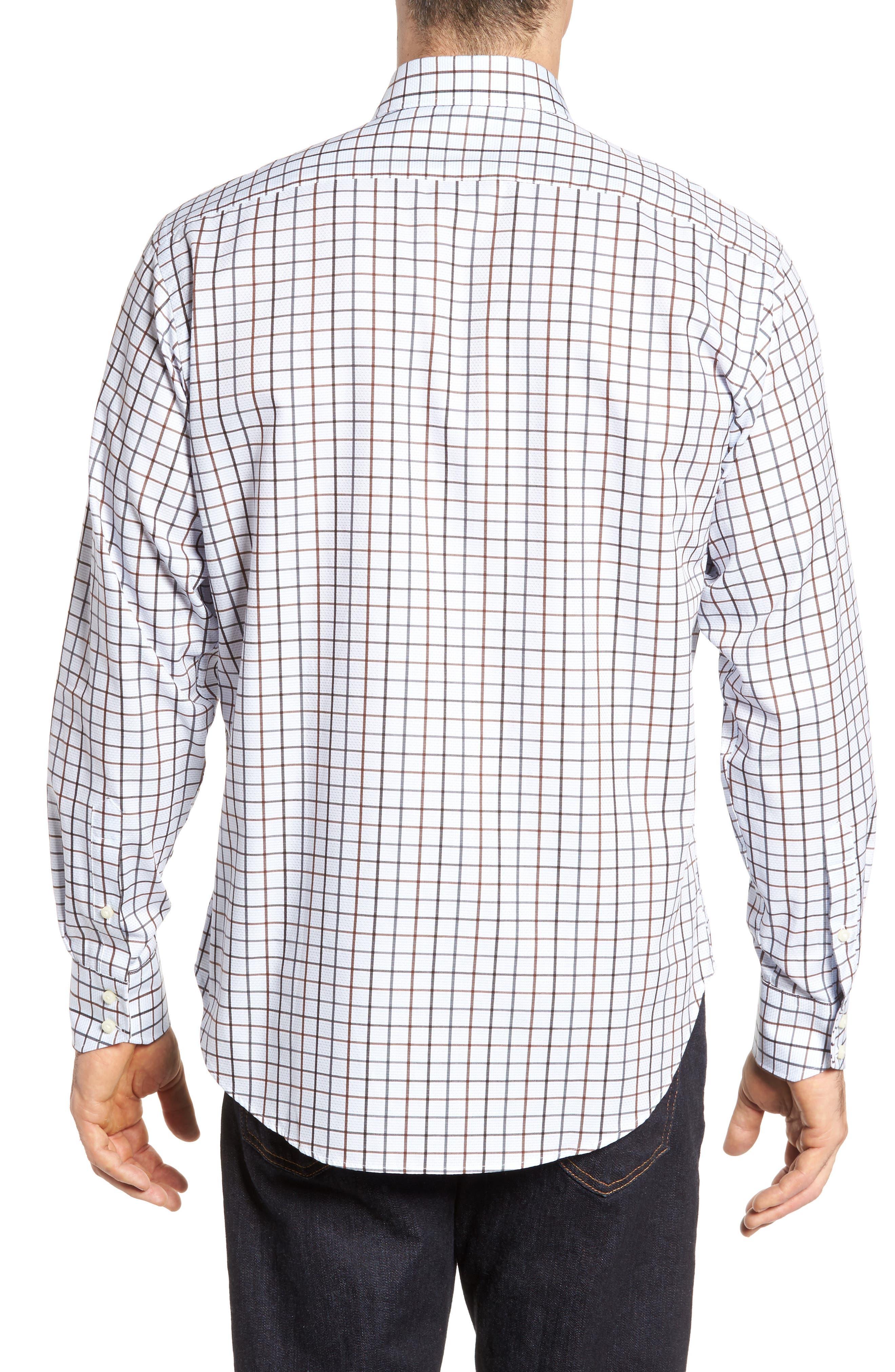 Regular Fit Check Sport Shirt,                             Alternate thumbnail 2, color,                             200