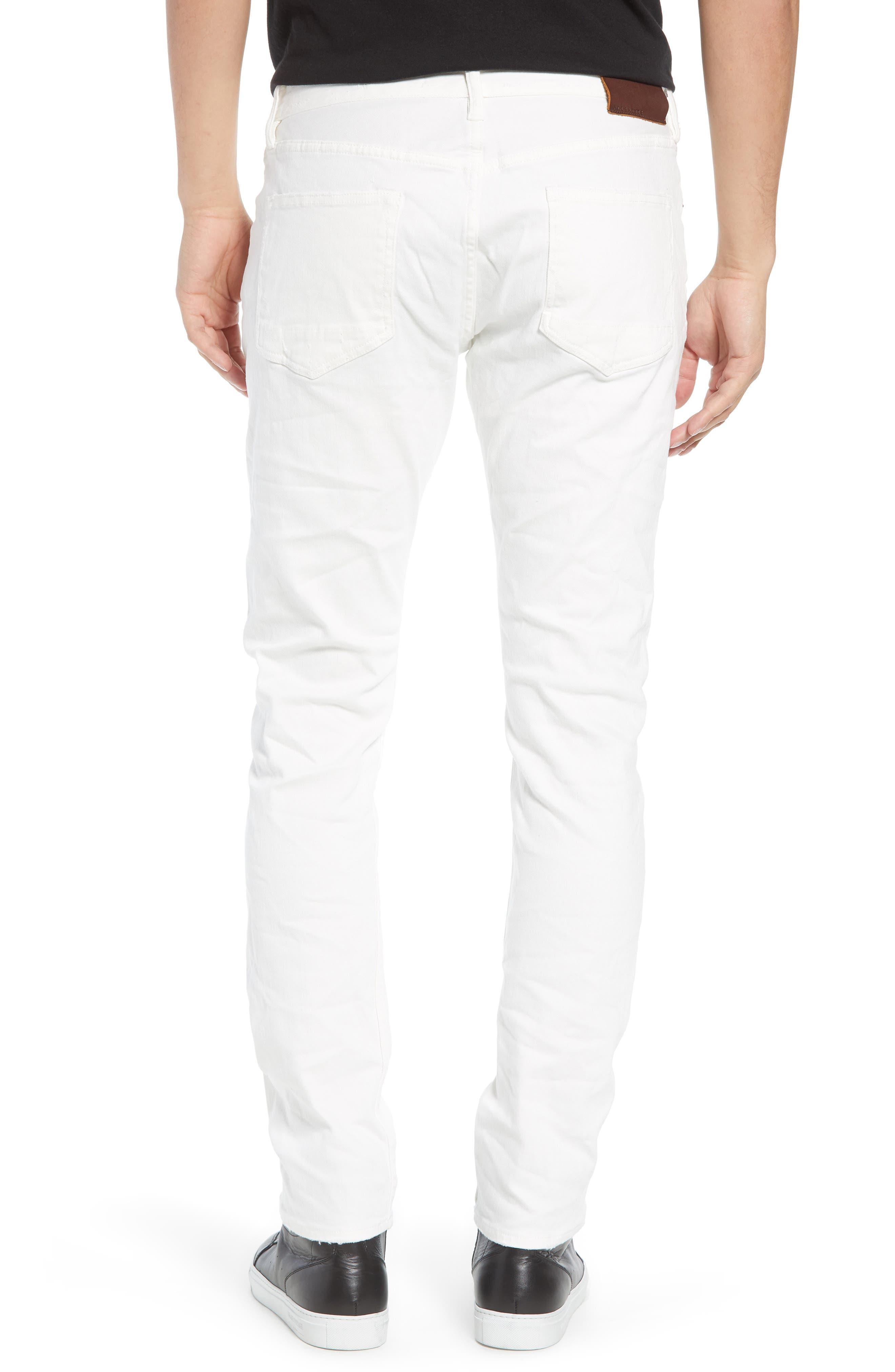 Weott Rex Slim Fit Jeans,                             Alternate thumbnail 2, color,                             100