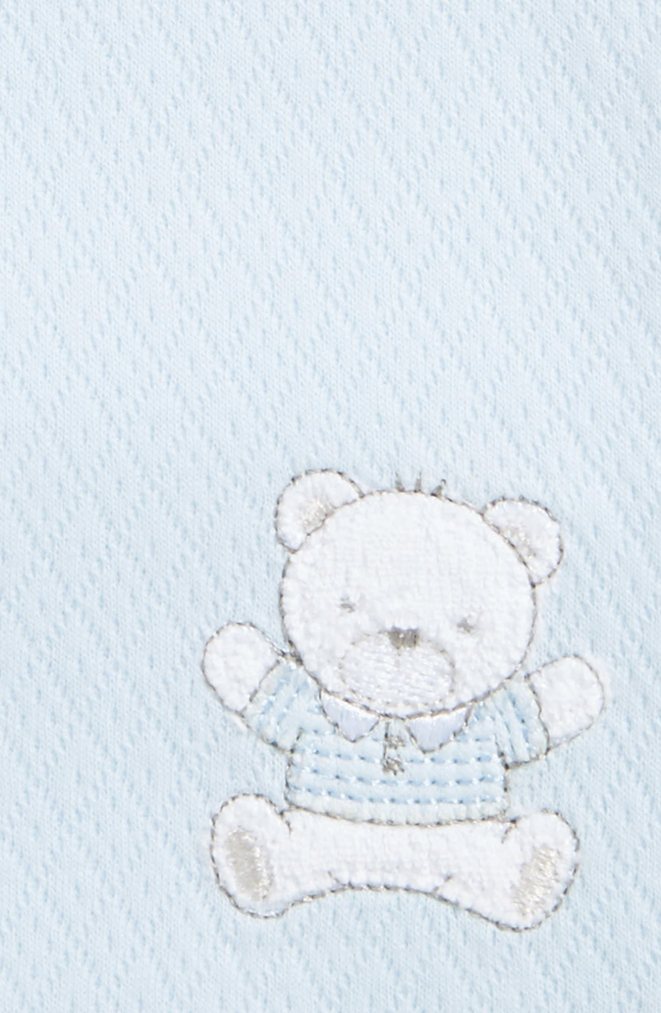Bear Receiving Blanket,                             Alternate thumbnail 2, color,