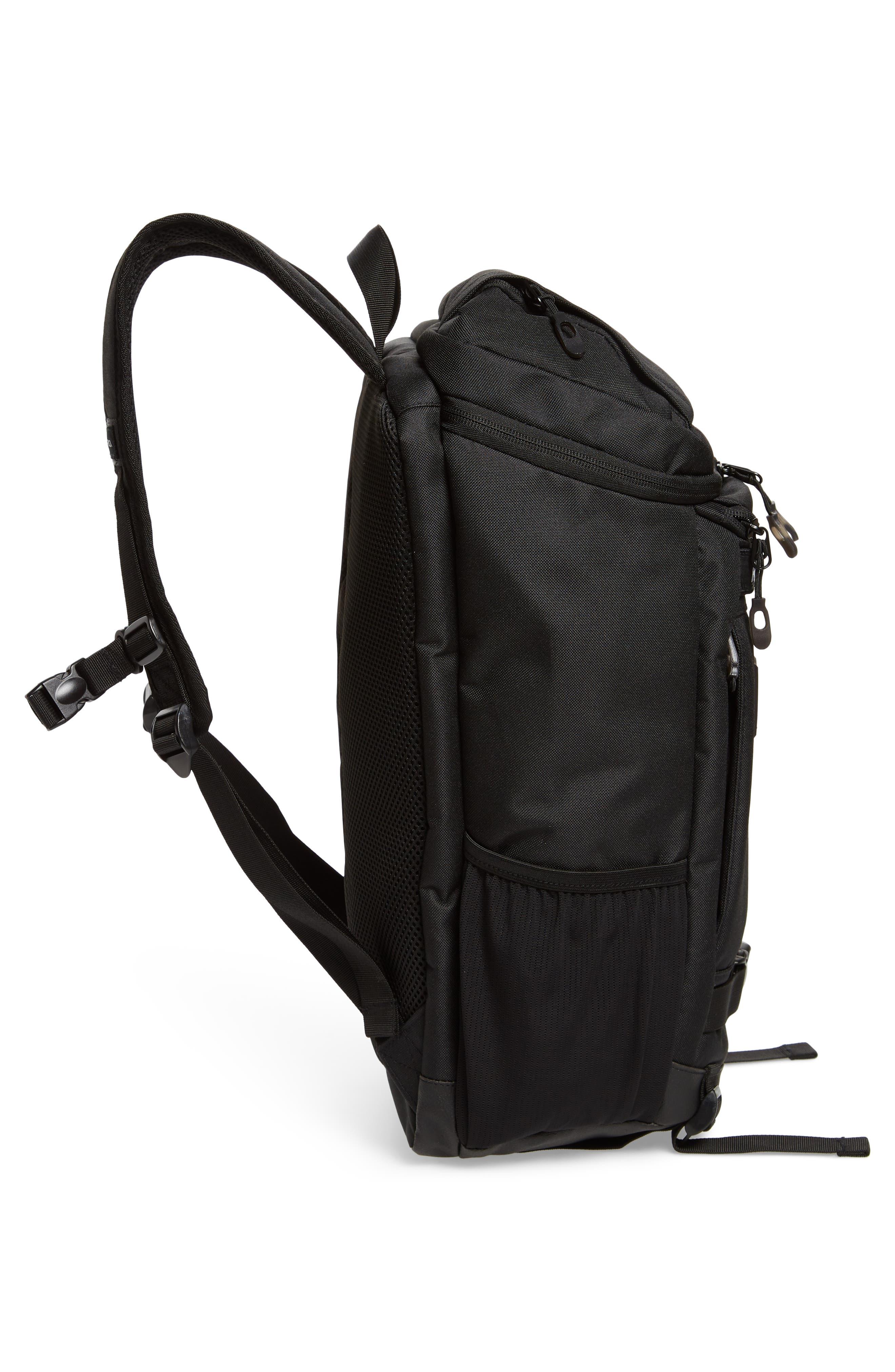 Voyage Skate Commuter Backpack,                             Alternate thumbnail 5, color,                             001