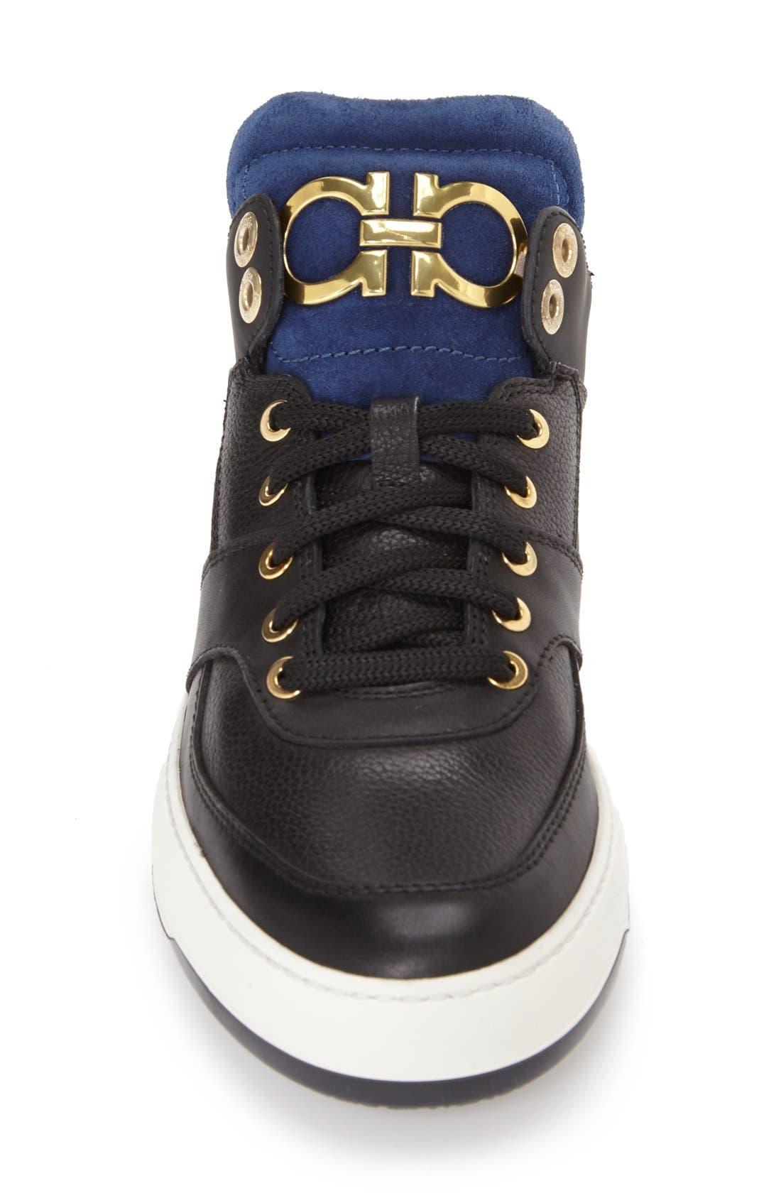 'Monroe' Sneaker,                             Alternate thumbnail 4, color,                             004