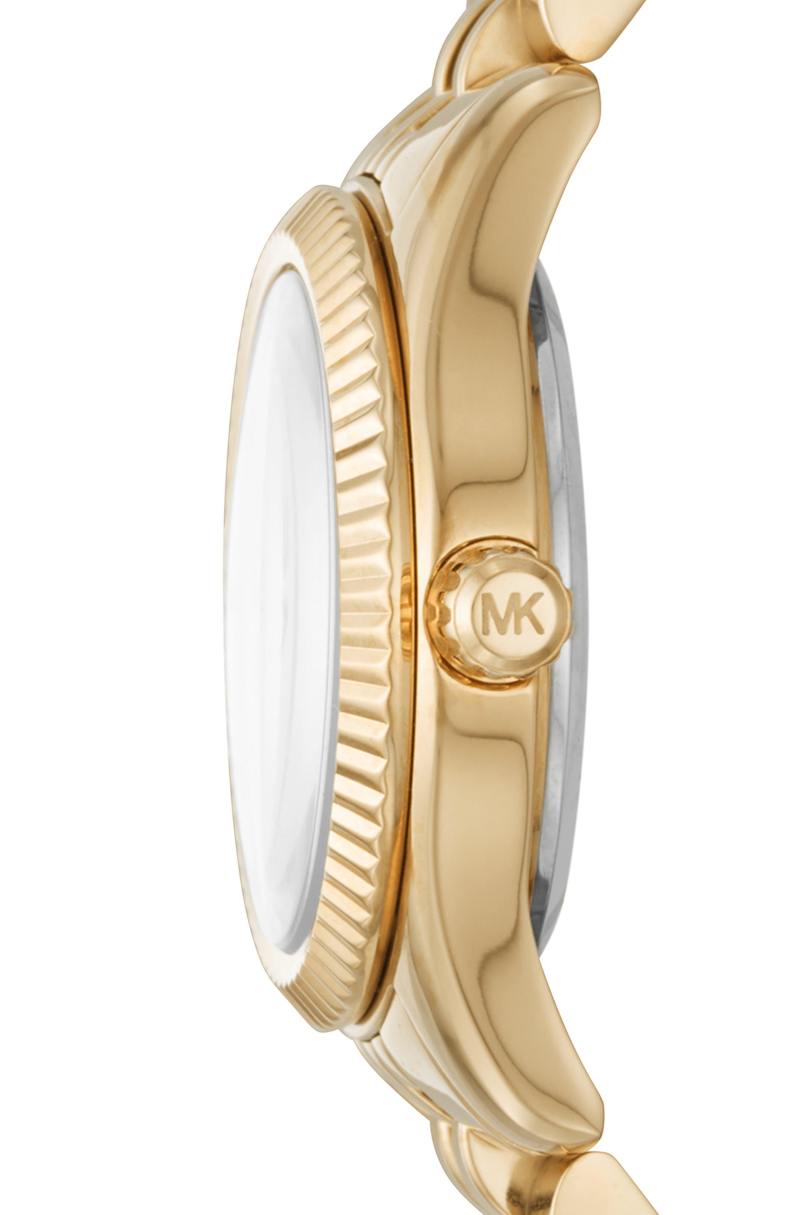 Lexington Bracelet Watch, 26mm,                             Alternate thumbnail 2, color,                             GOLD