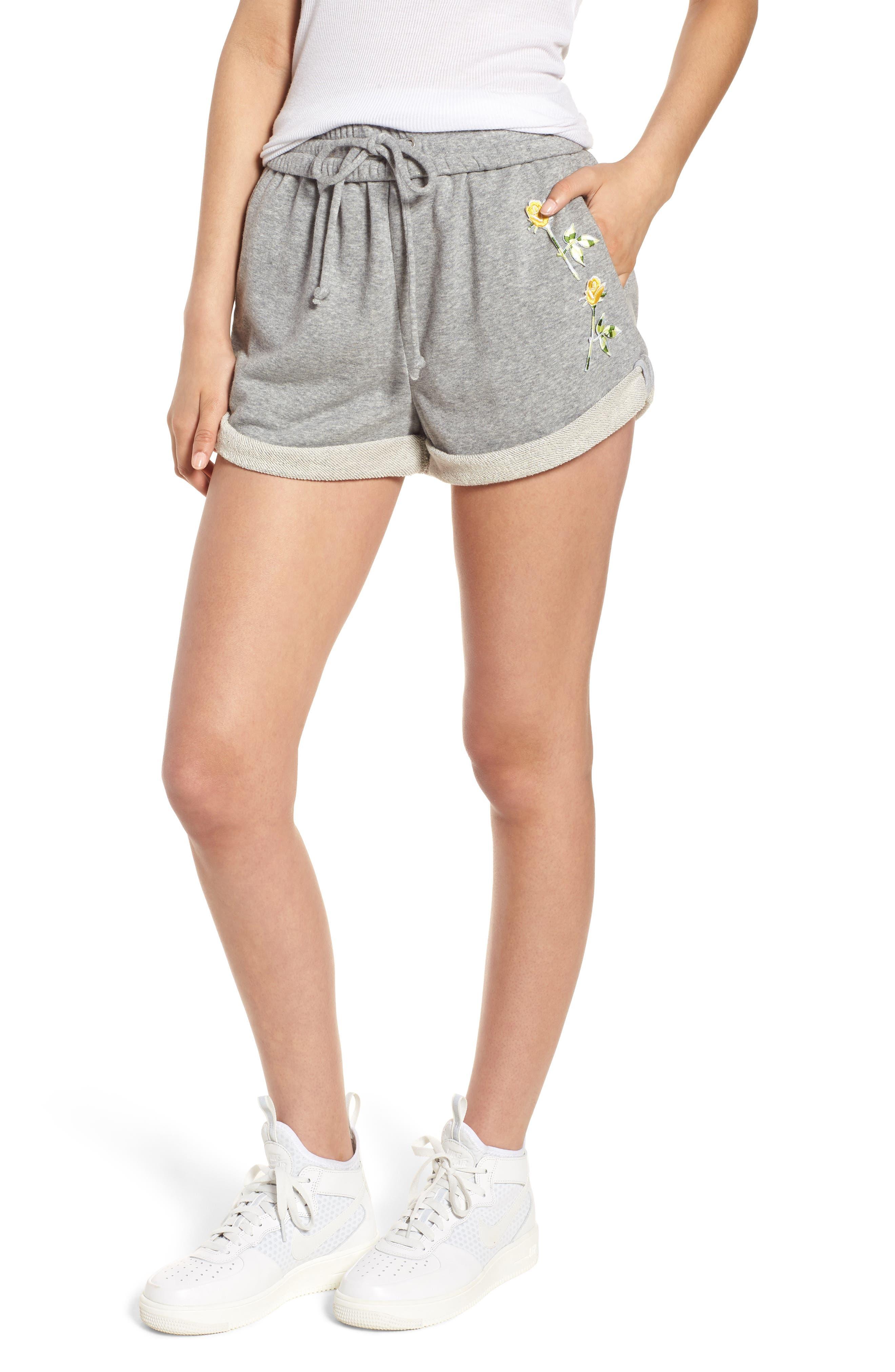 Rolled Drawstring Shorts,                         Main,                         color, 050