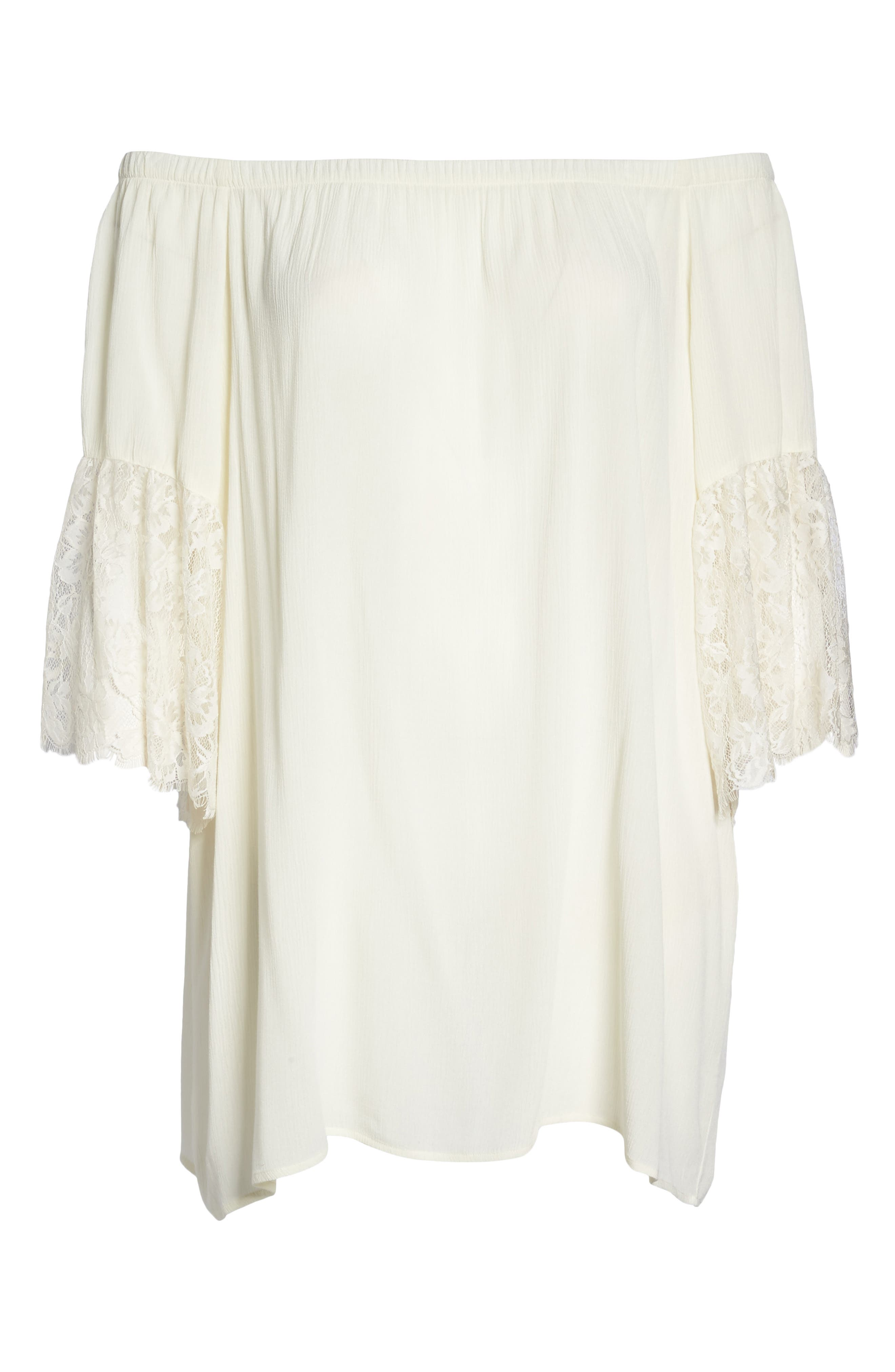 Off the Shoulder Cover-Up,                             Alternate thumbnail 12, color,