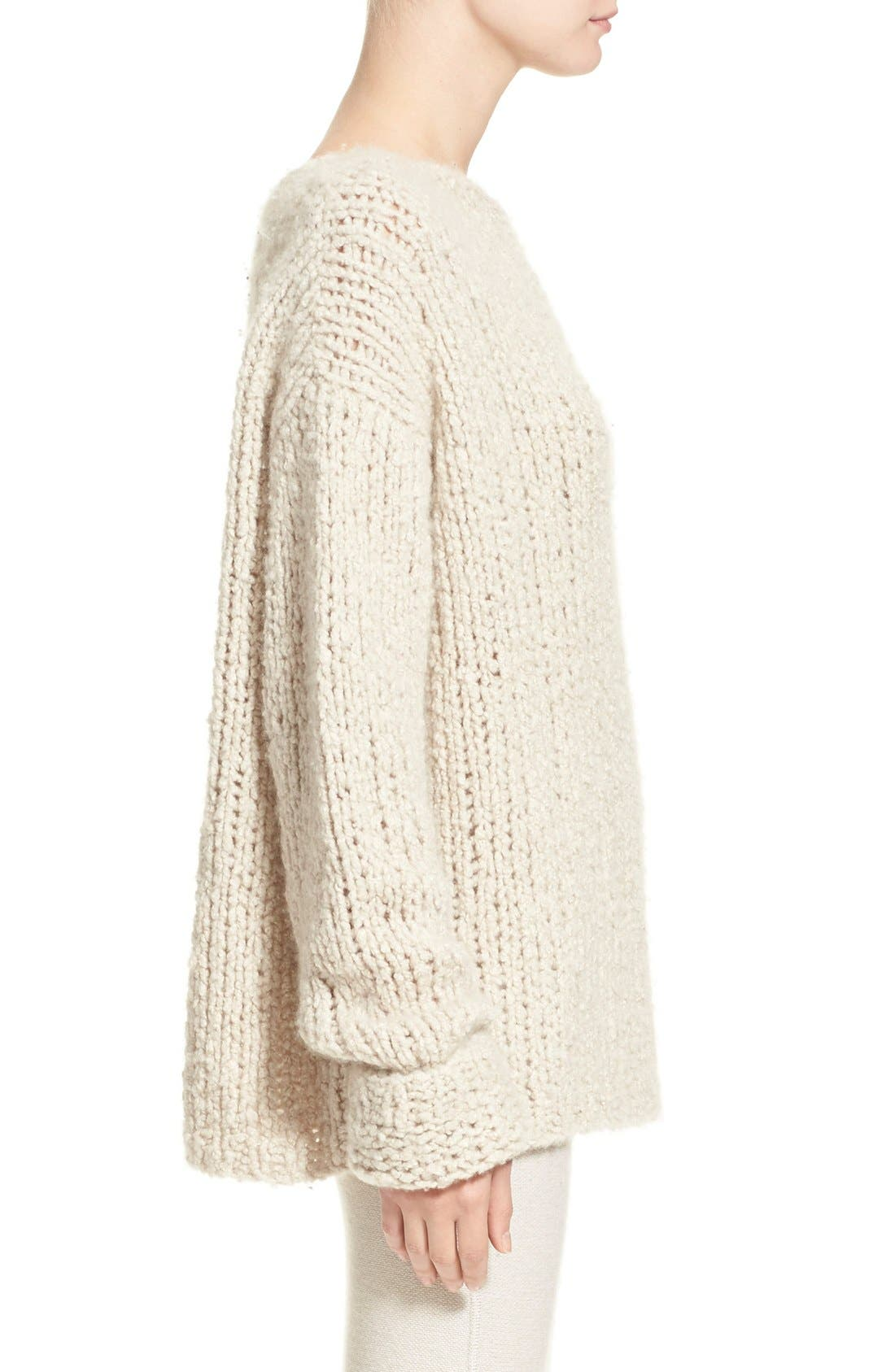 Donna KaranCollection Hand Knit Cashmere Sweater,                             Alternate thumbnail 2, color,                             282