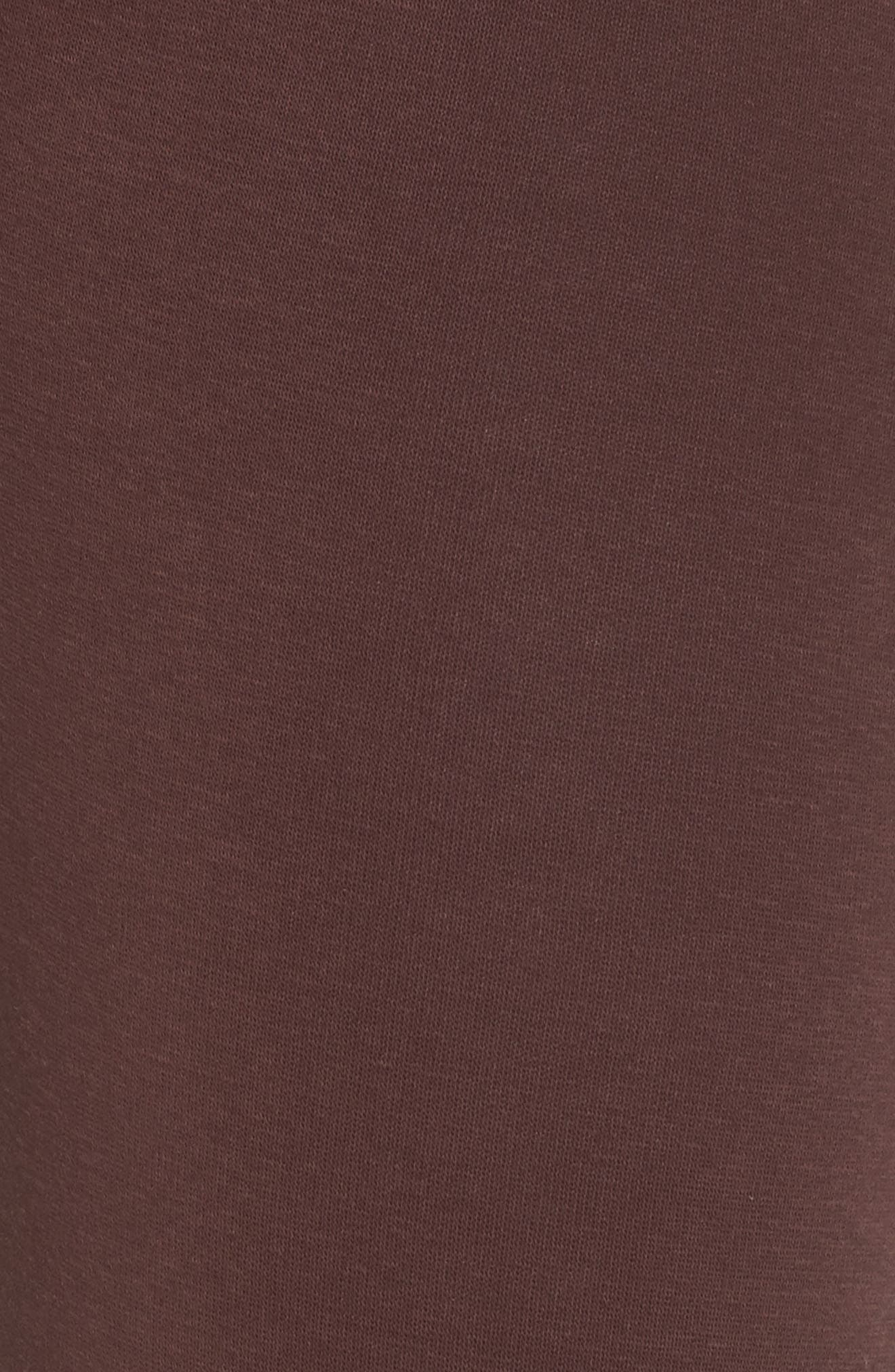 Penny Washed Lounge Pants,                             Alternate thumbnail 5, color,                             PORT