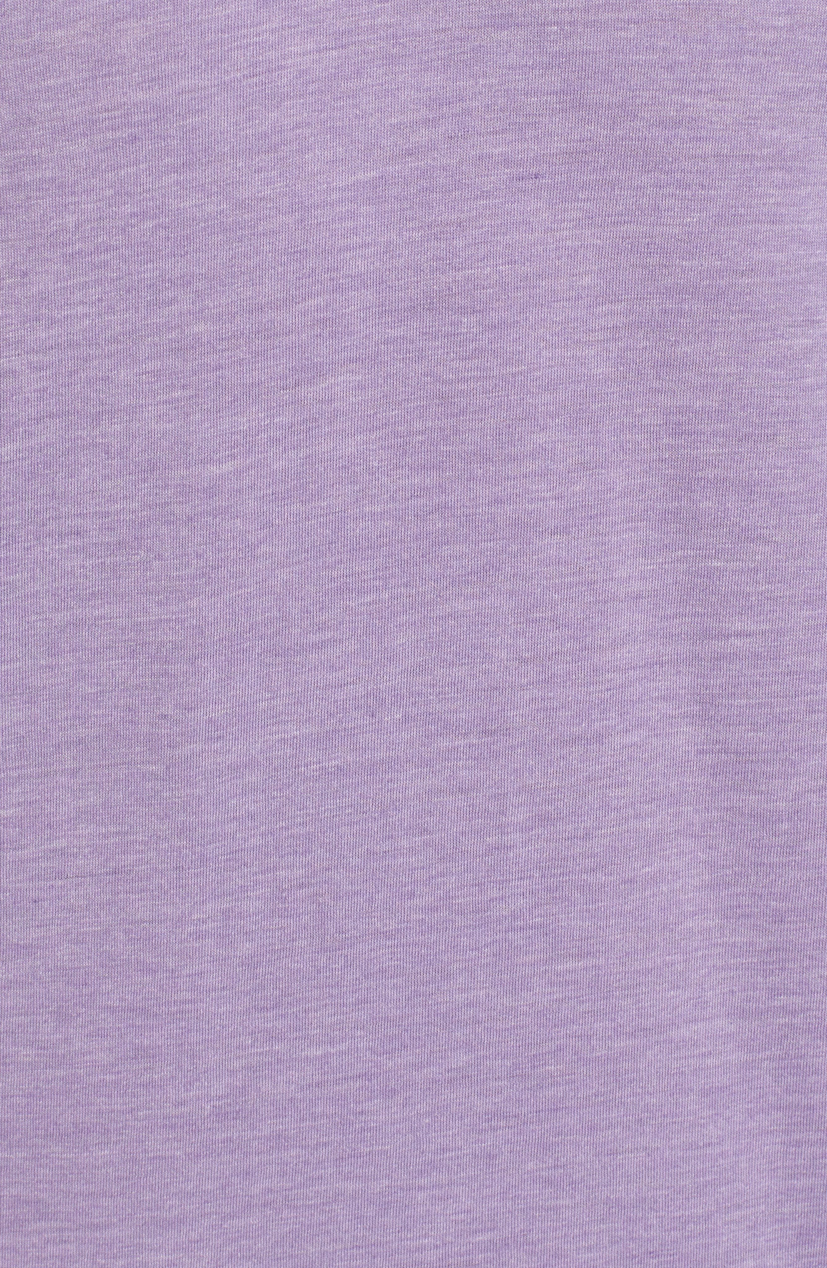 Scallop Triblend V-Neck T-Shirt,                             Alternate thumbnail 103, color,