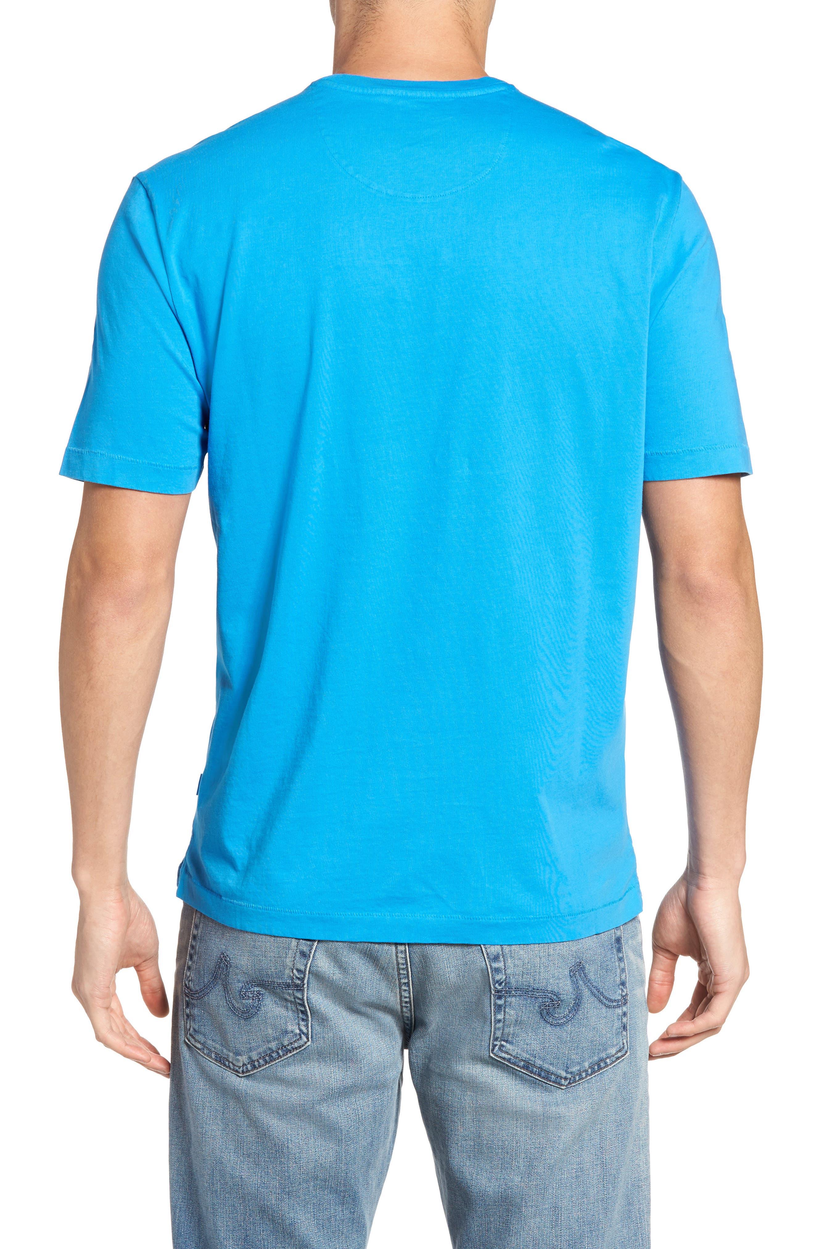 New Bali Sky Pima Cotton Pocket T-Shirt,                             Alternate thumbnail 75, color,
