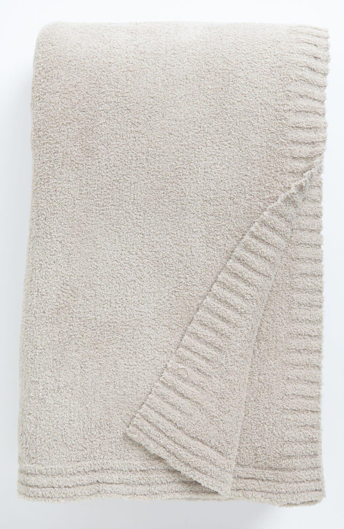 'Butter' Knit Blanket,                             Main thumbnail 1, color,                             280