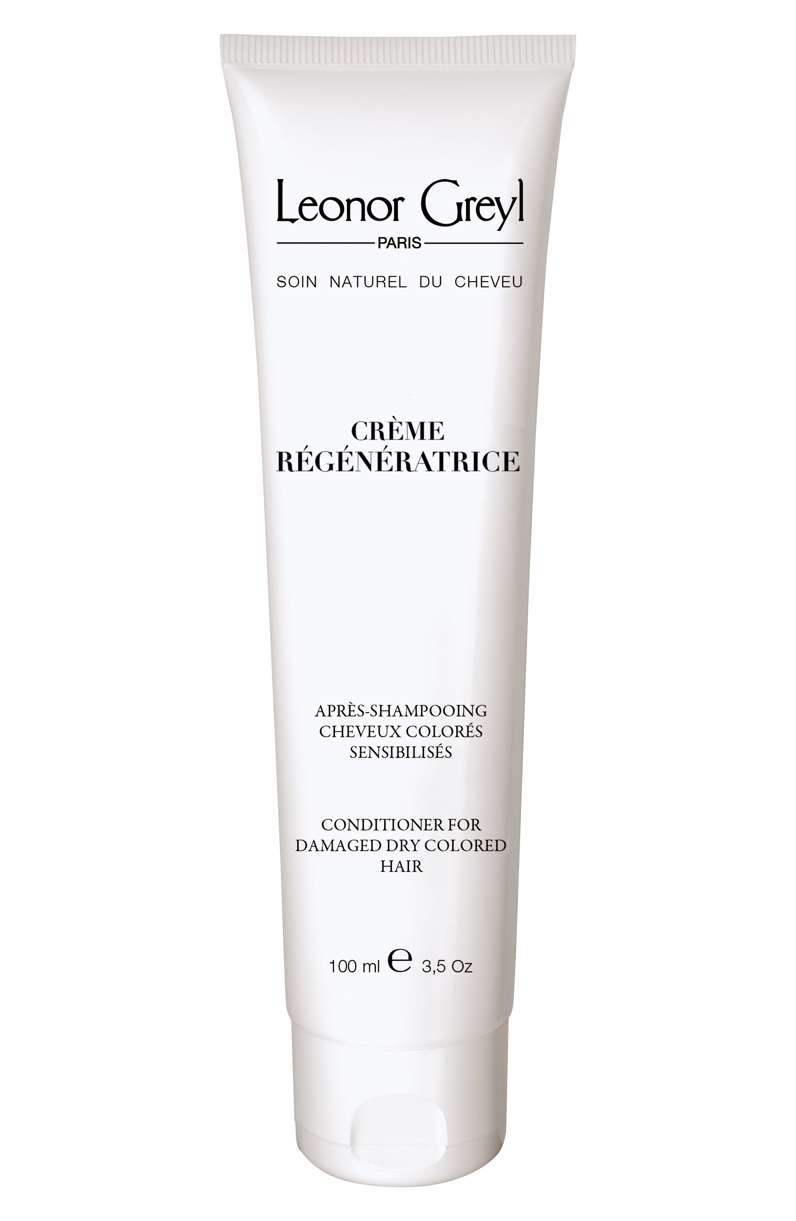 LEONOR GREYL Cr & #232Me Regeneratrice (Conditioner For Damaged, Dry, Colored Hair), 3.5 Oz./ 100 Ml