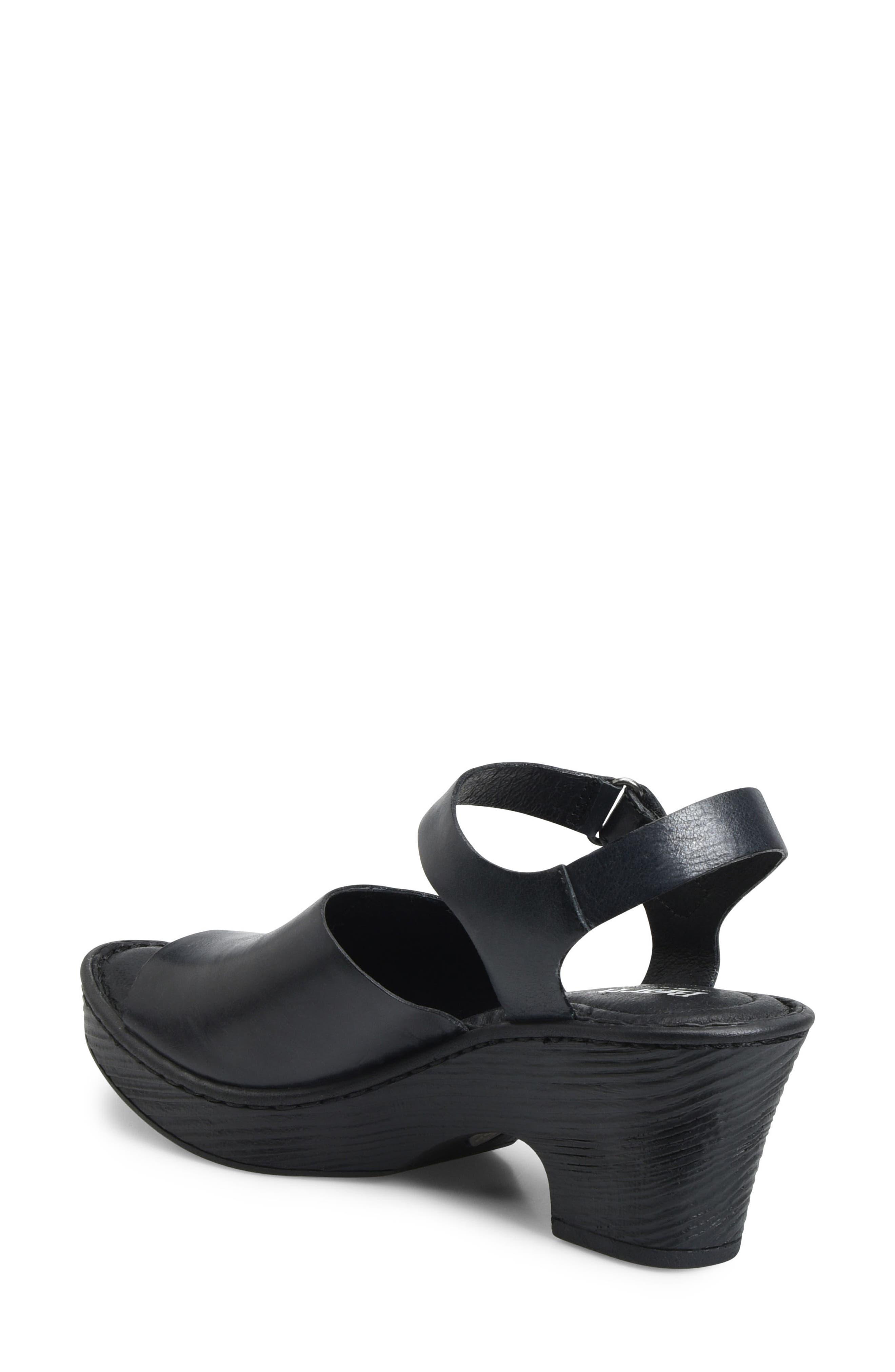 Canna Platform Sandal,                             Alternate thumbnail 2, color,                             001