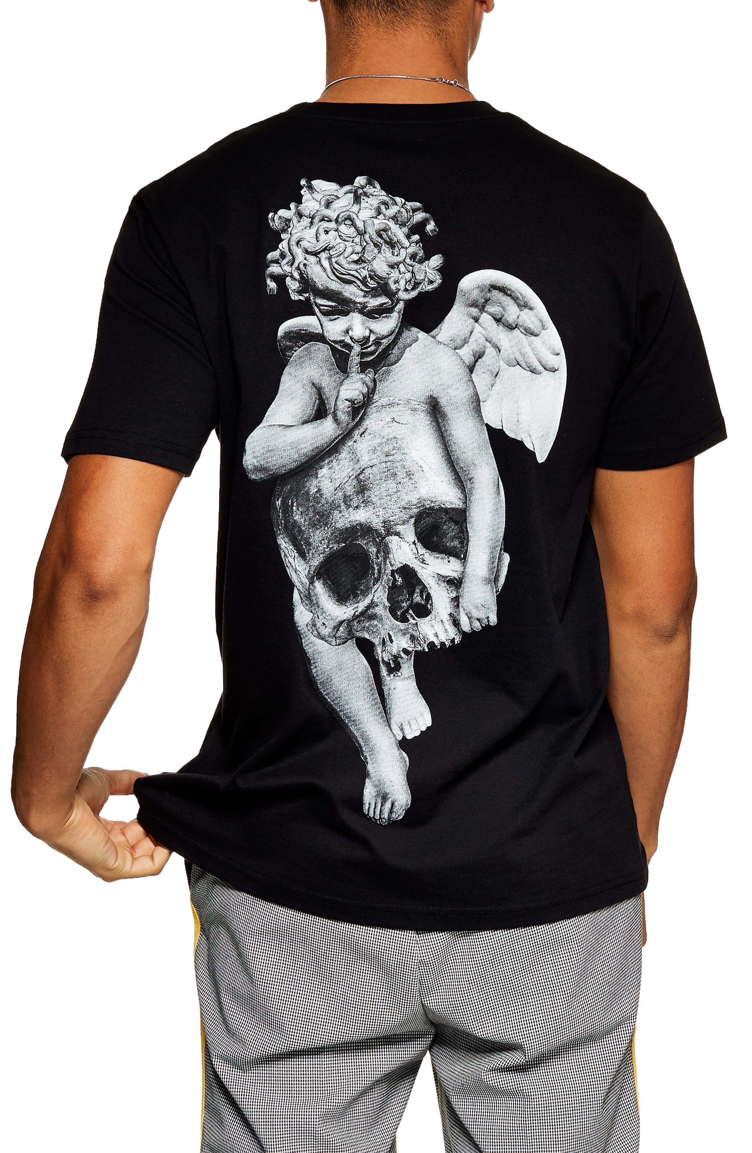 Thugger Graphic T-Shirt,                             Alternate thumbnail 2, color,                             001